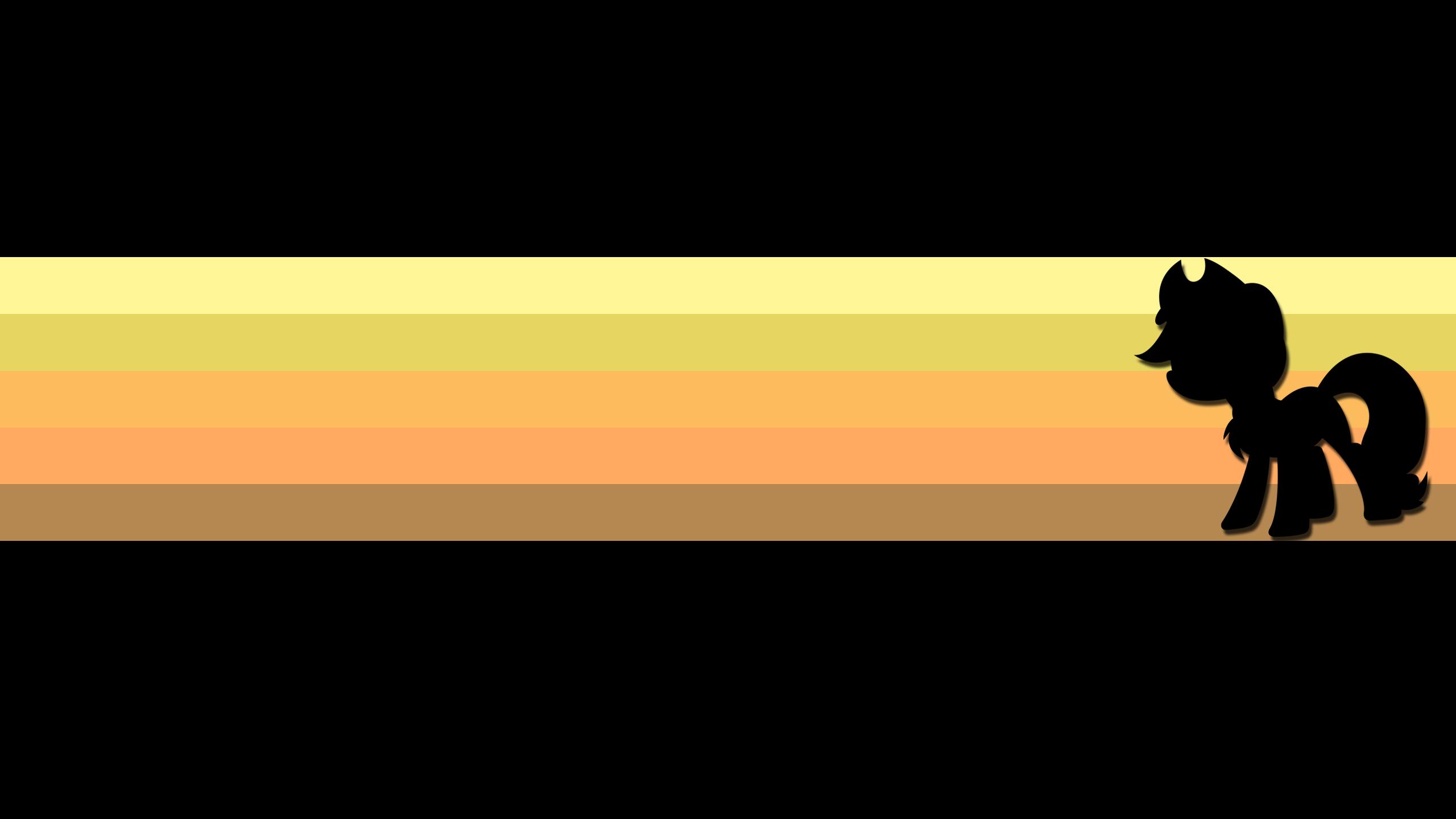 [12] Applejack: Colored Stripes by DaringDashie and DoktorRainbowFridge