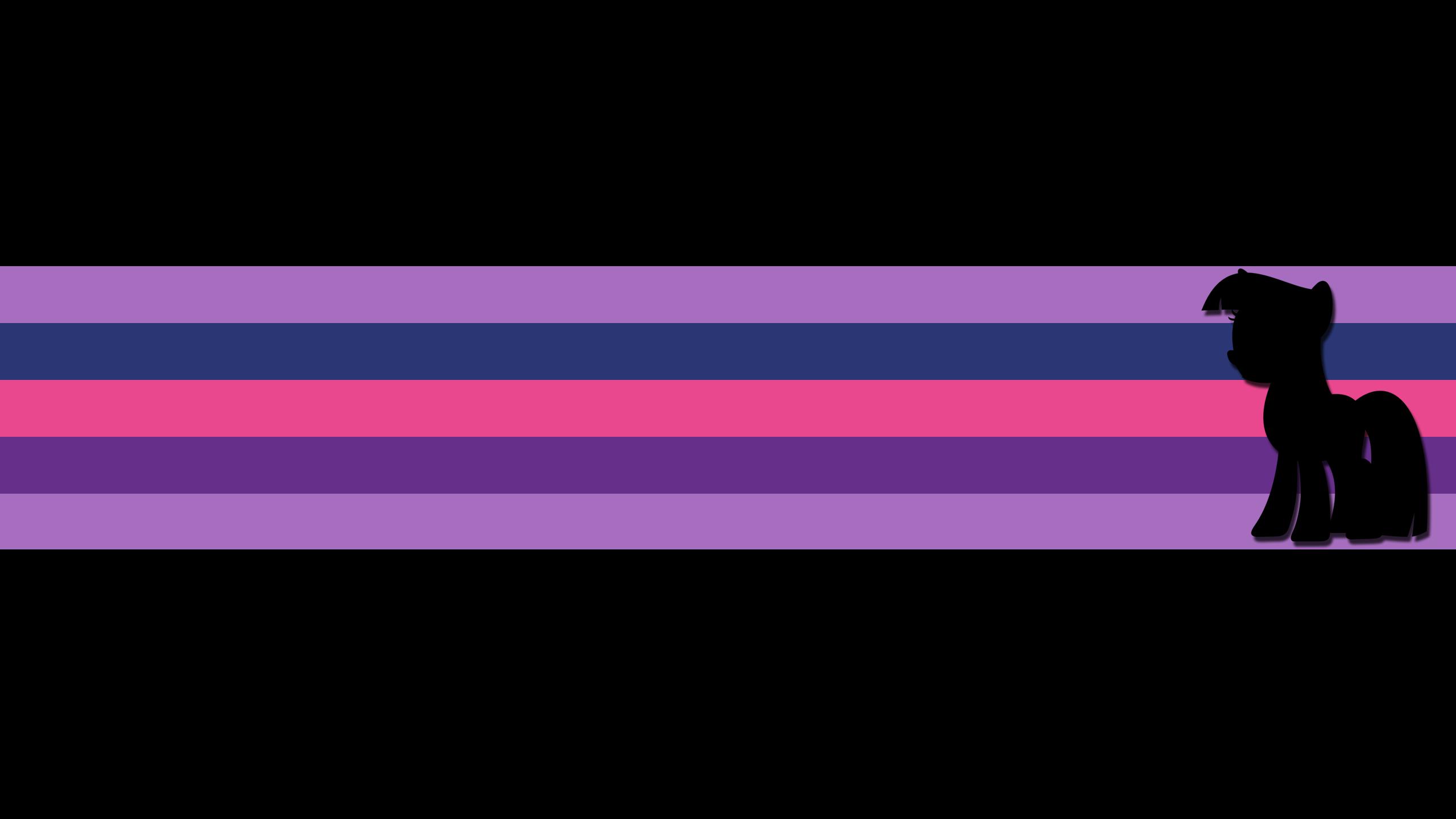 [14] Twilight Sparkle: Colored Stripes by CaptRainbows and DoktorRainbowFridge
