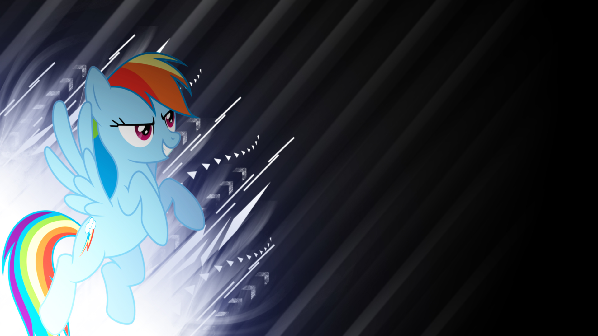 Rainbow Dash grunge background by BronyYAY123 and Hawk9mm