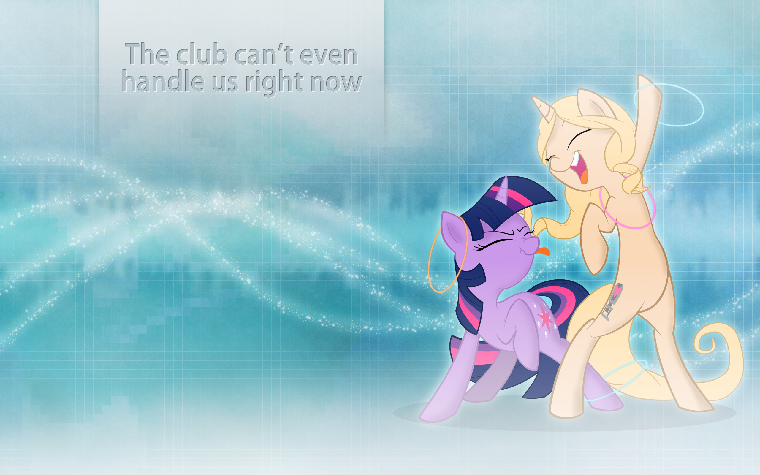 The Club Can't Even Handle Us Right Now by Lysok and SharkMachine