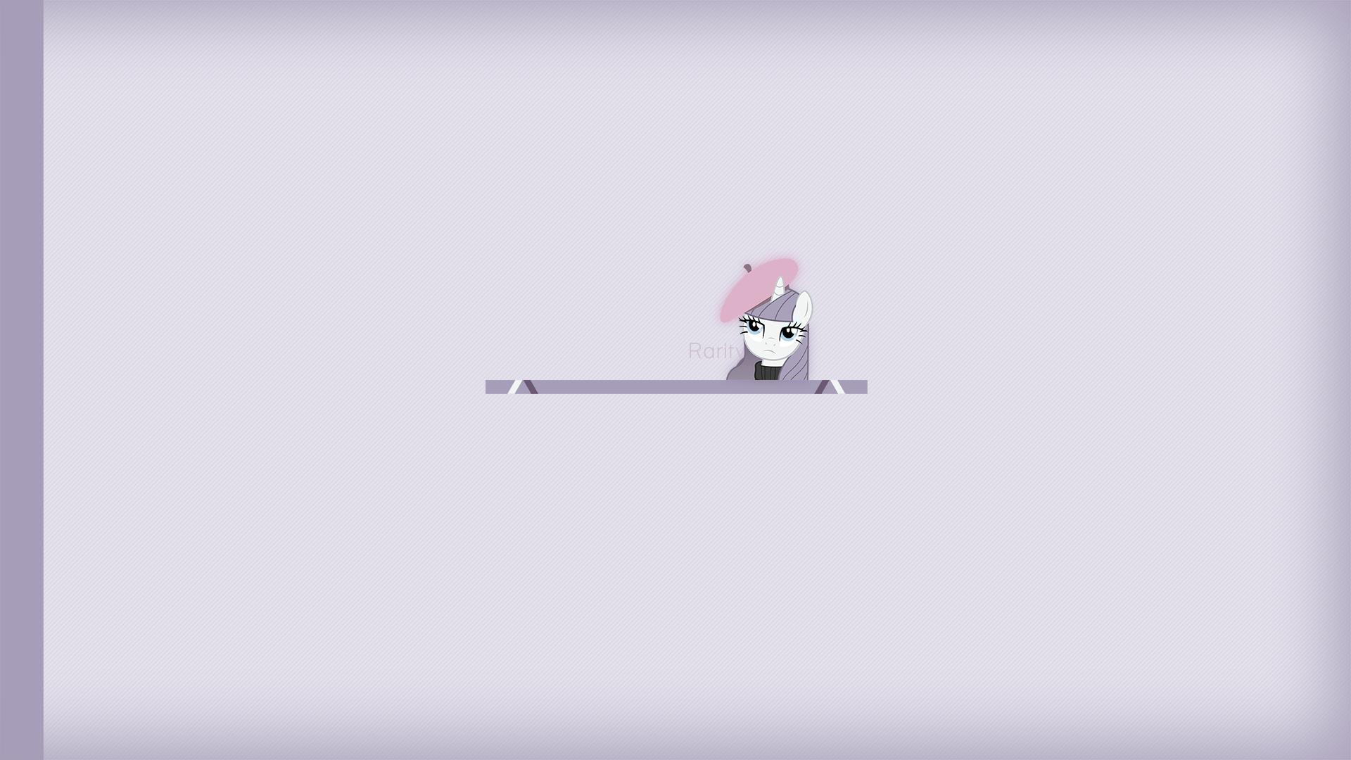 Rarity (wallpaper - simple) by Mac3030 and Mihaaaa