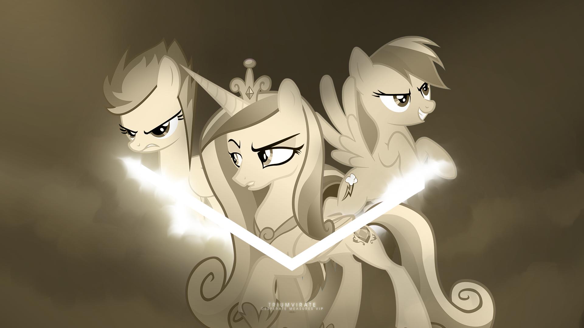 Triumvirate (Desperate Measures VIP) by AlexPony, JennieOo, MikoyaNx and zakbo1337