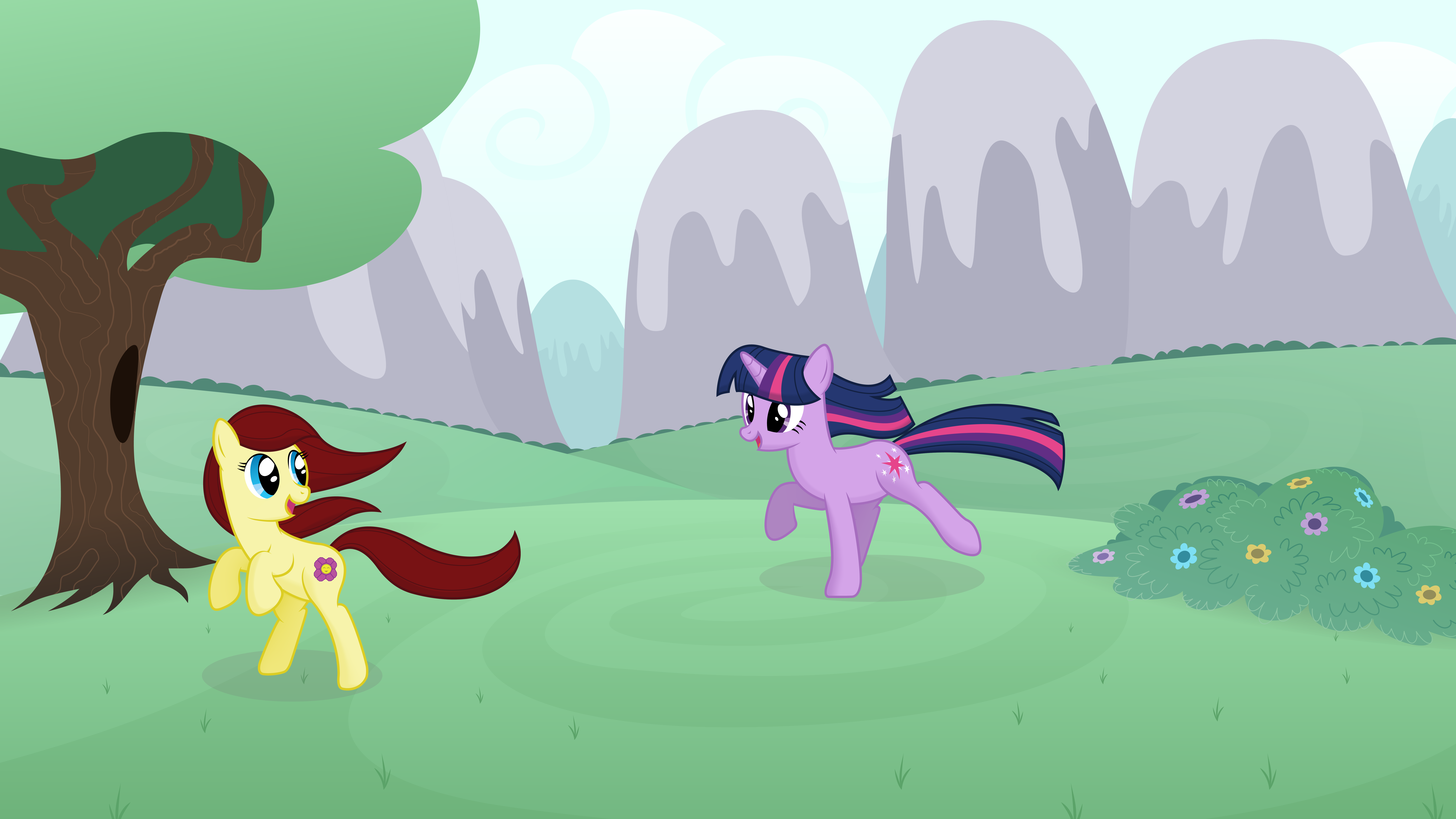 A Game of Tag by Kired25, SilverRainclouds and ZuTheSkunk