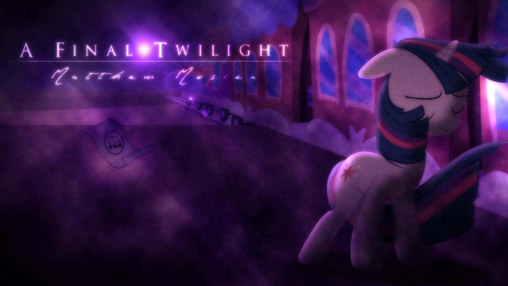 A Final Twilight- Matthew Mosier [Cover Art] by KiniestLimit, M99moron, Vexx3 and Yanoda