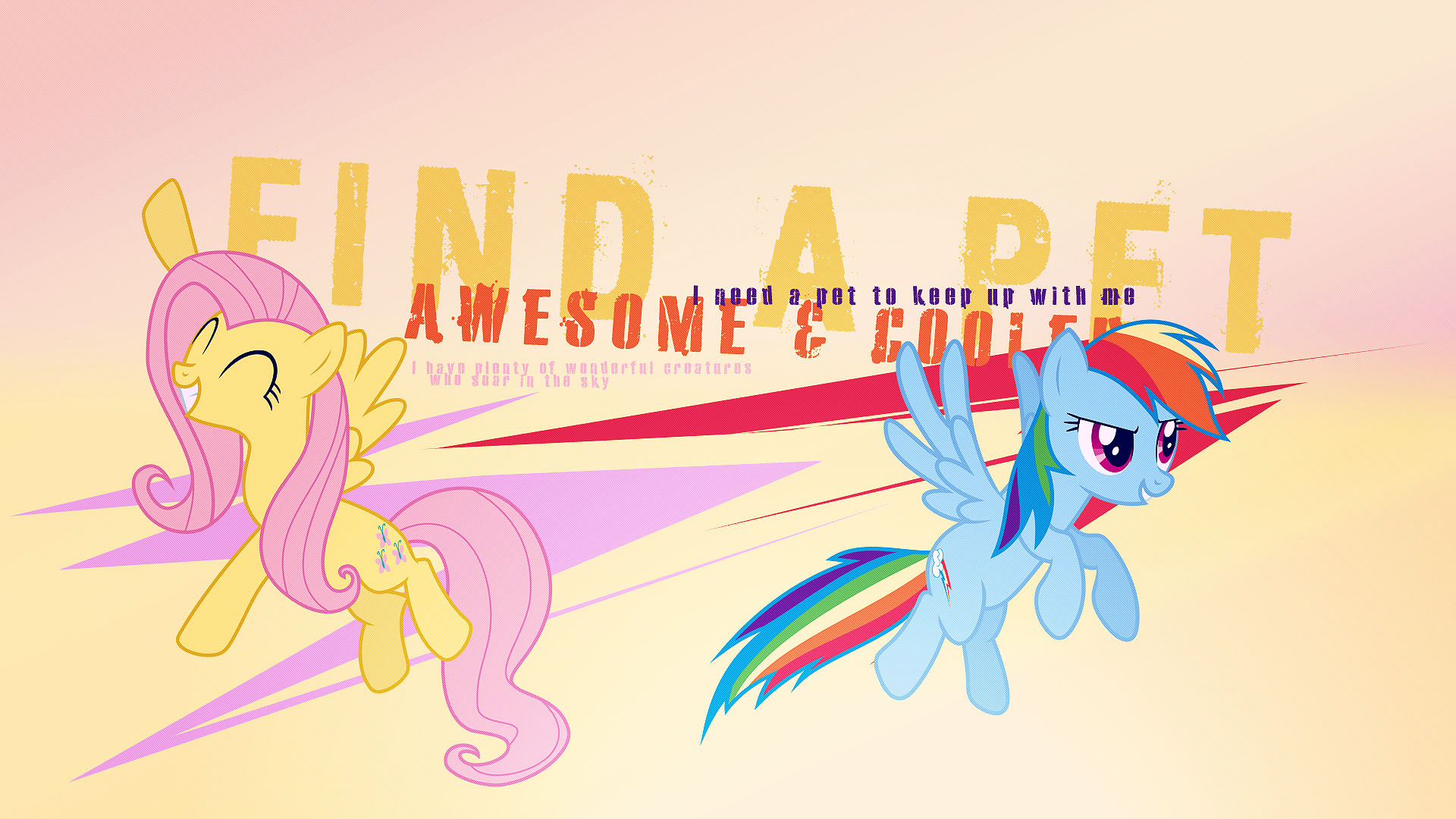 Find a Pet Wallpaper by X-Celestia-X, xPesifeindx and Xtrl