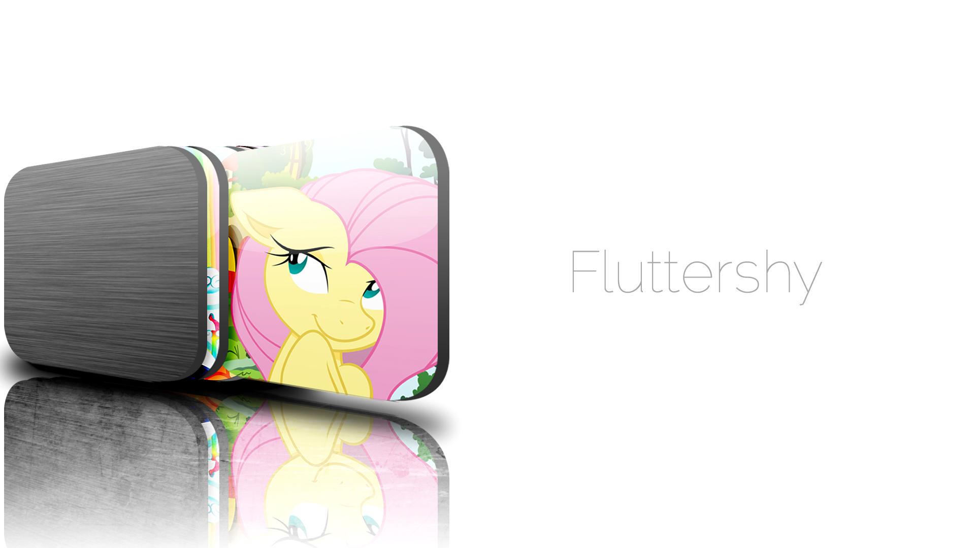JD Fluttershy wallpaper by InternationalTCK and Joey-Darkmeat