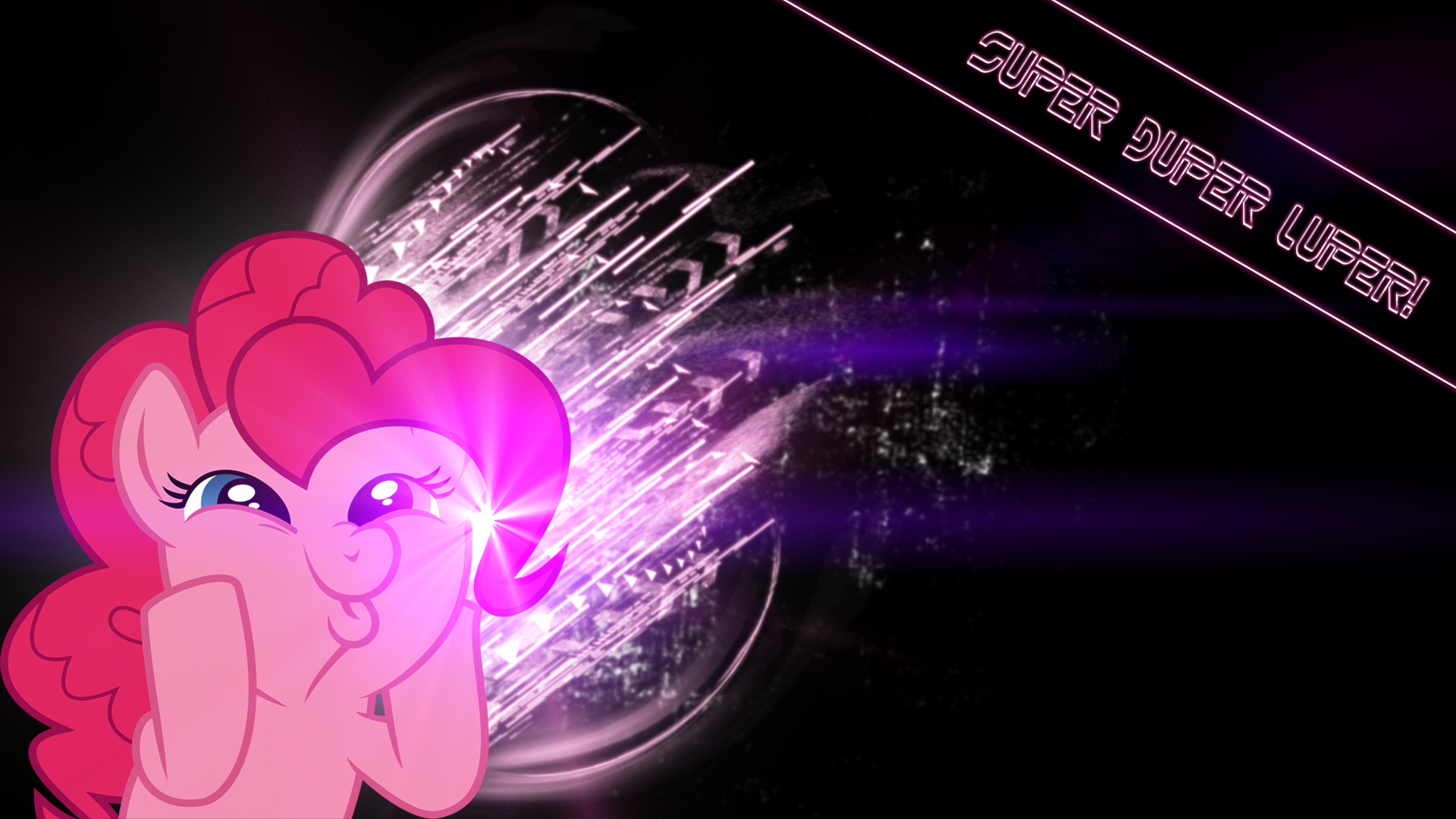 Pinkie Pie Super Duper Luper! by BronyYAY123 and Mamandil