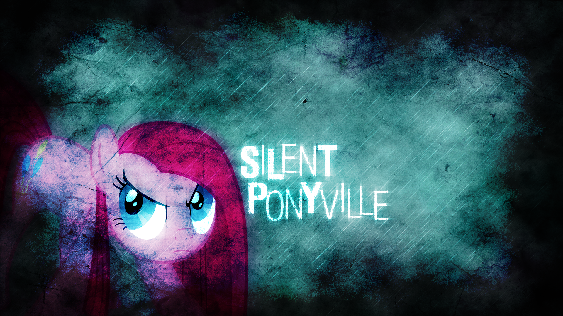 Silent Ponyville (Nightmare Night special) by Hi52utoday and Mac3030