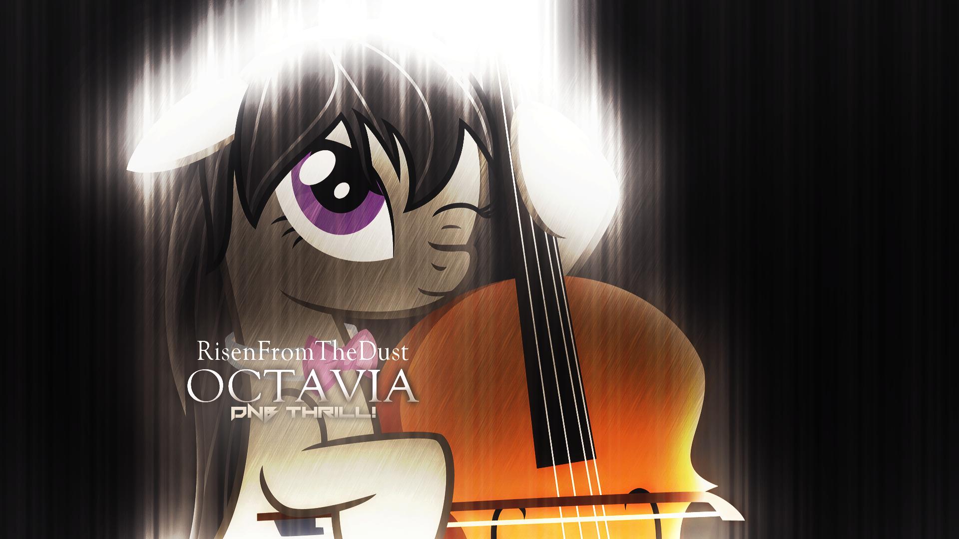 Octavia DnB Thrill! Cover Wallpaper (Alter2) by Nianara and Xtrl