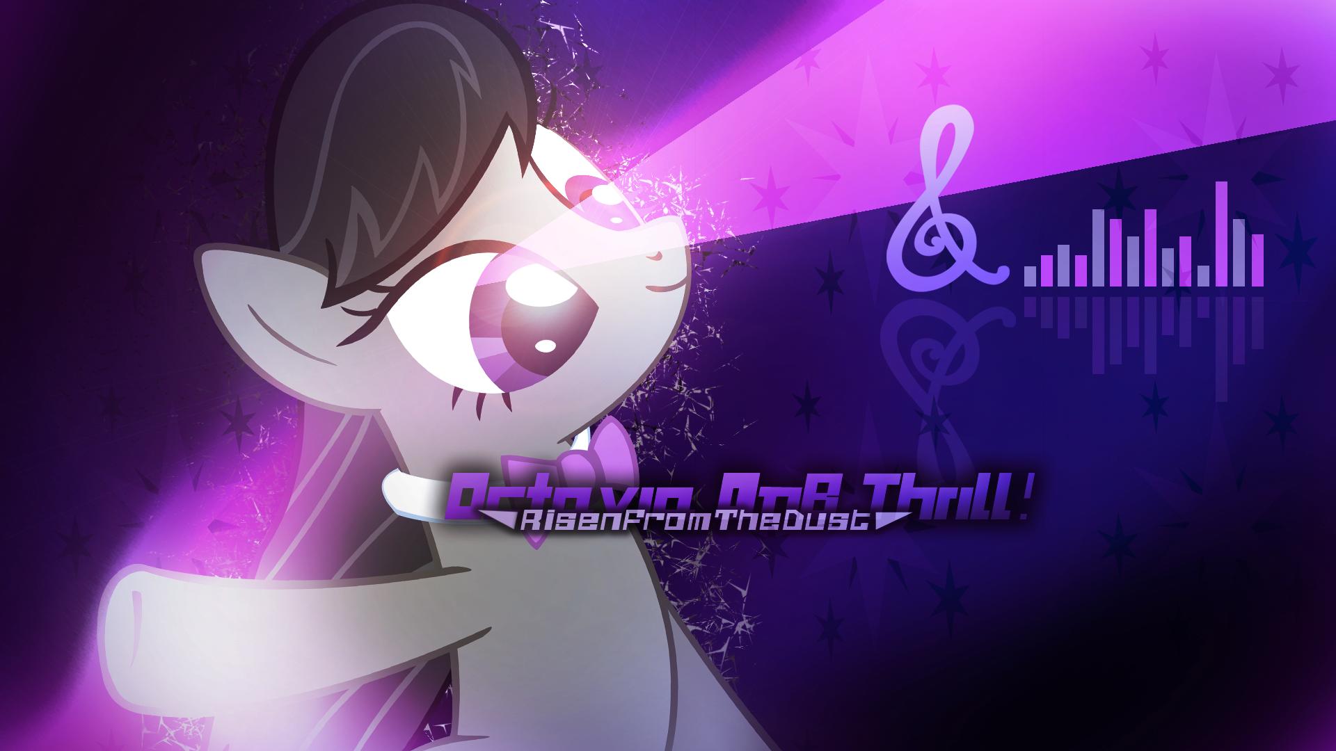 Octavia DnB Thrill! Cover Wallpaper (Alter3.1) by NinjamissenDk and Xtrl
