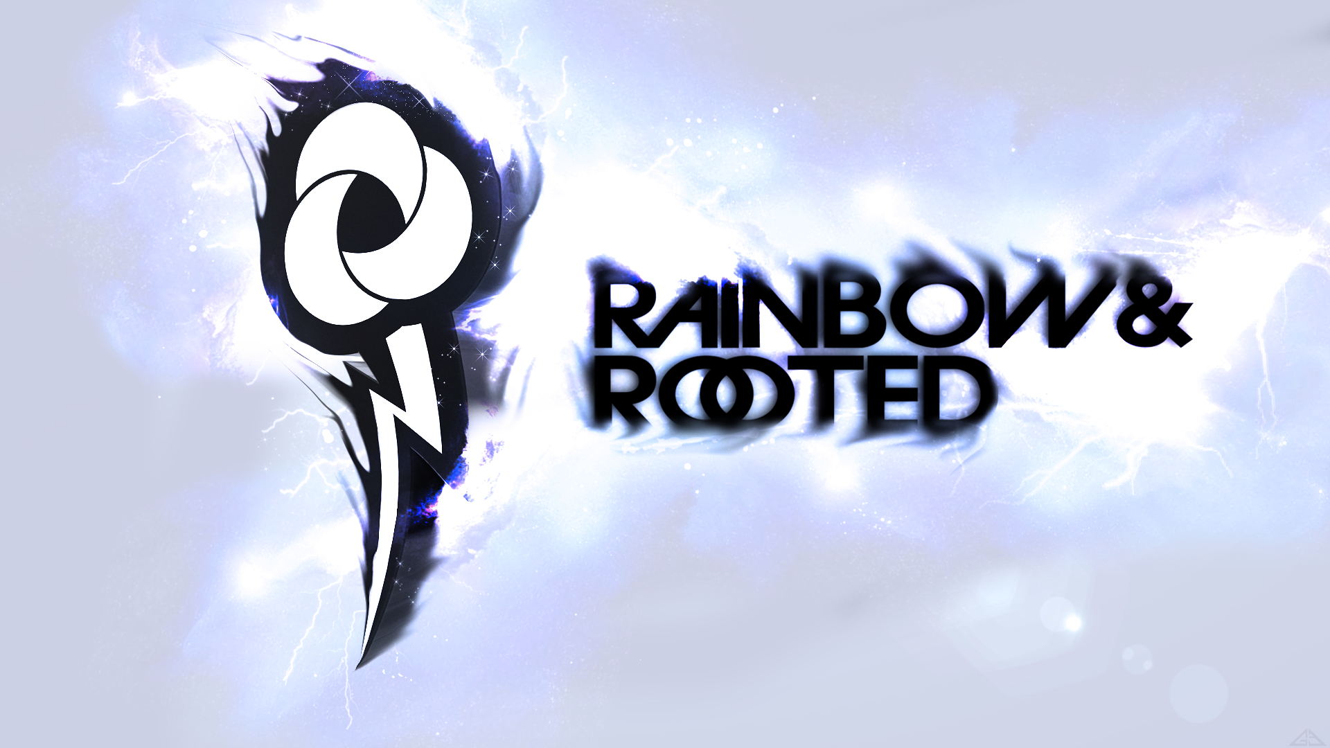 Rainbow and Rooted wallpaper by GizzyEST and WMill