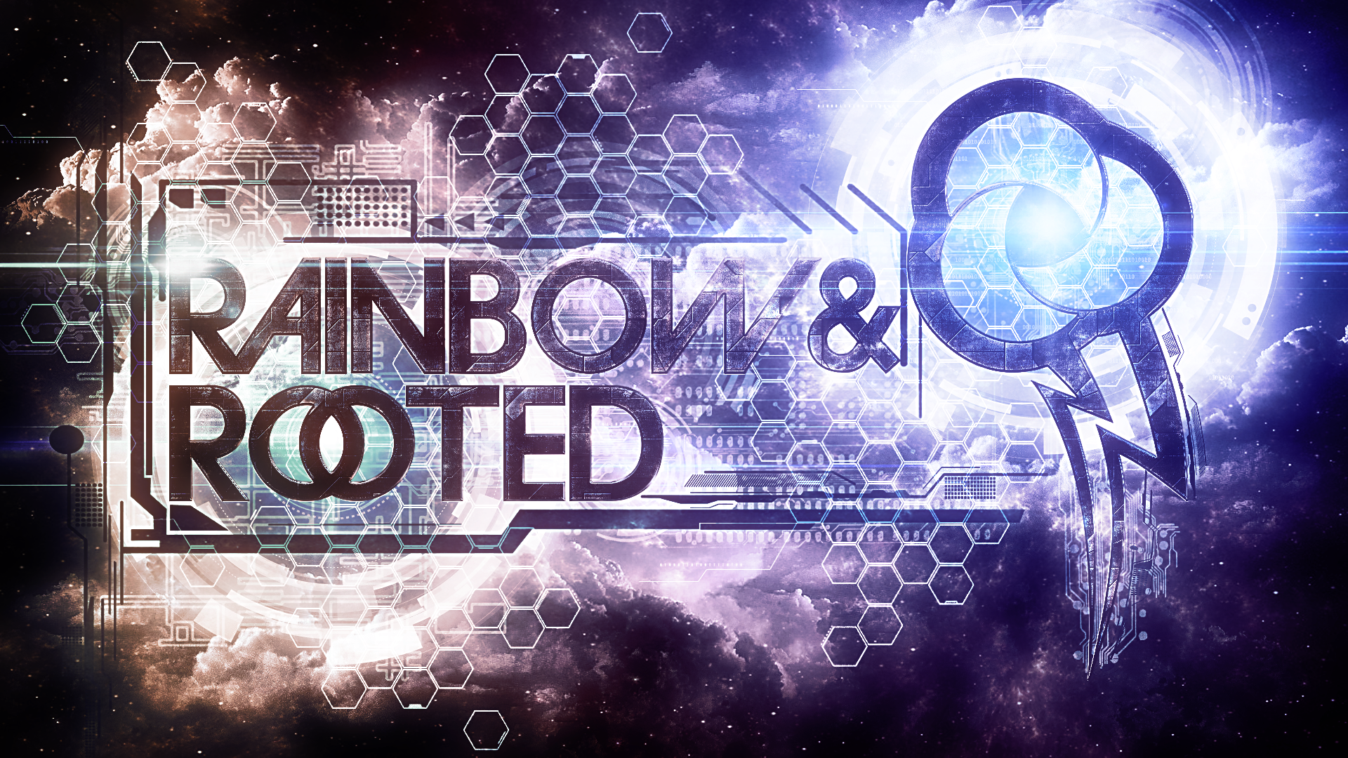 Rainbow and Rooted 1 - Wallpaper by Tzolkine and WMill