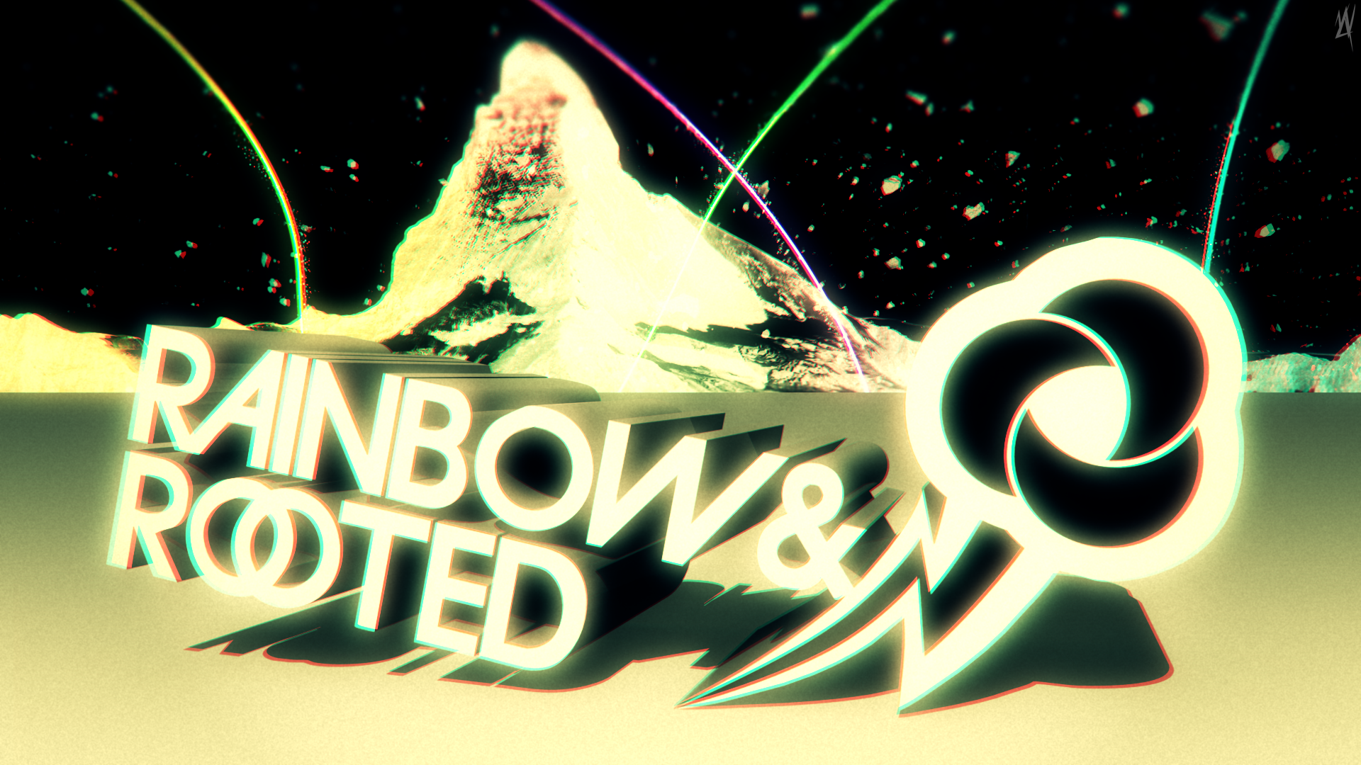 Rainbow and Rooted by MyLittleVisuals and WMill