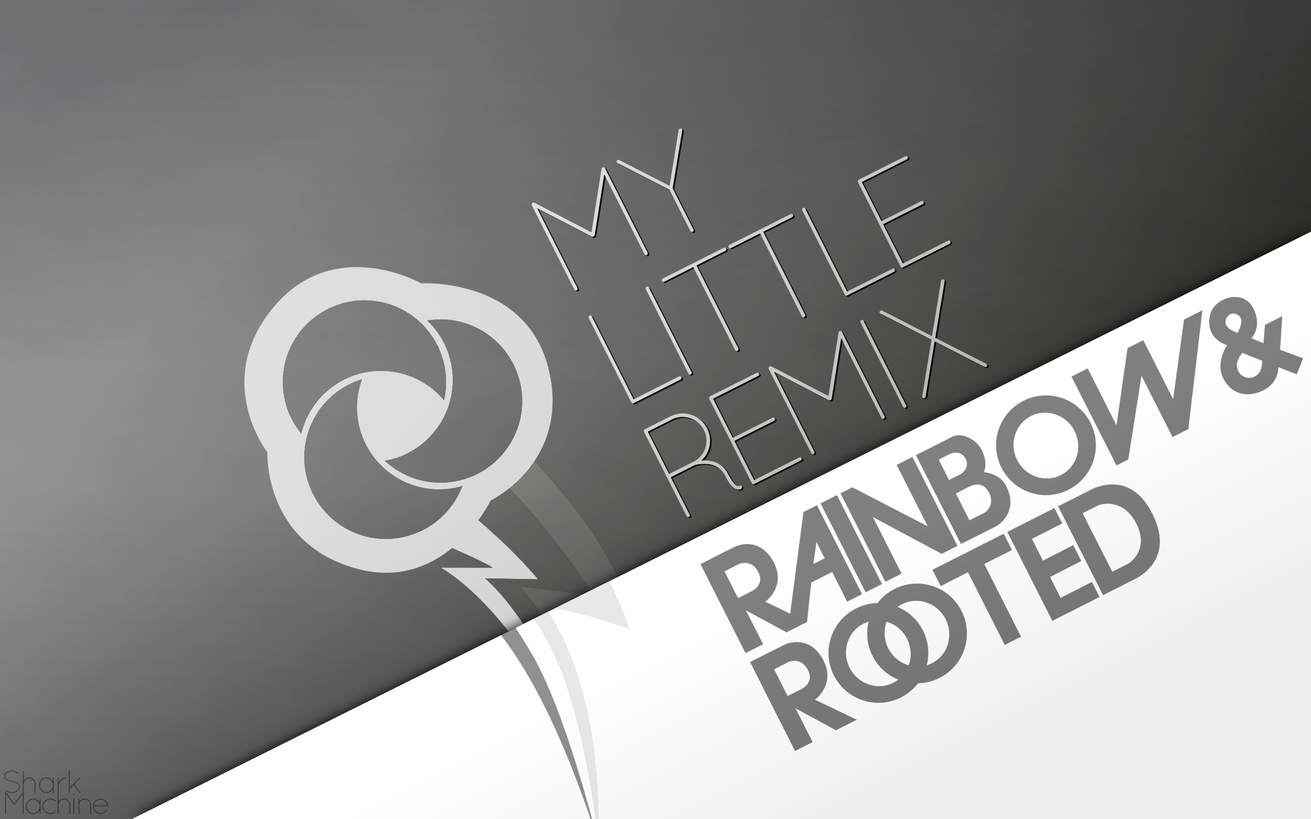 Rainbow and Rooted Wallpaper by SharkMachine and WMill