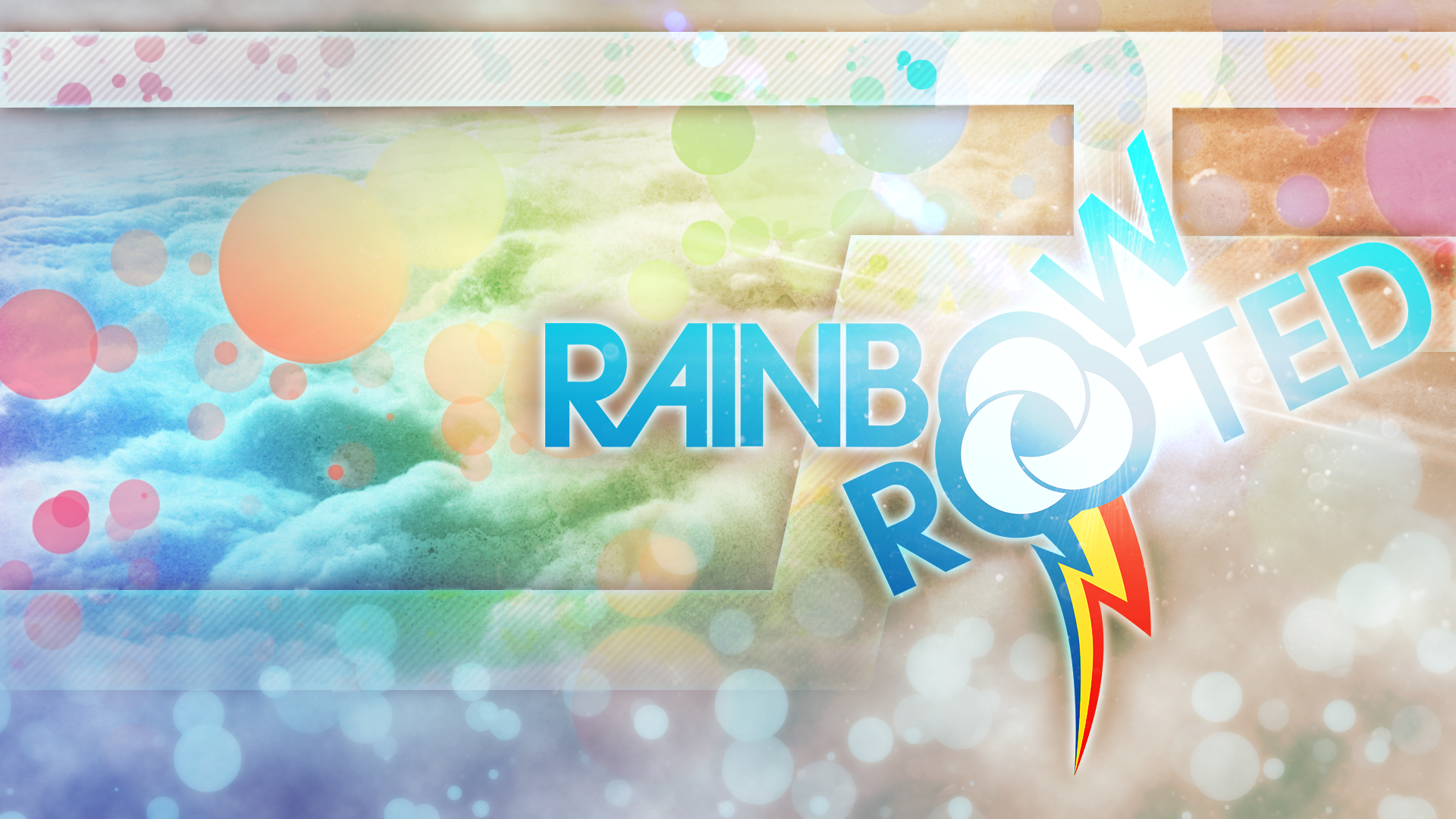 Rainbow and Rooted No Text Style by KibbieTheGreat and WMill