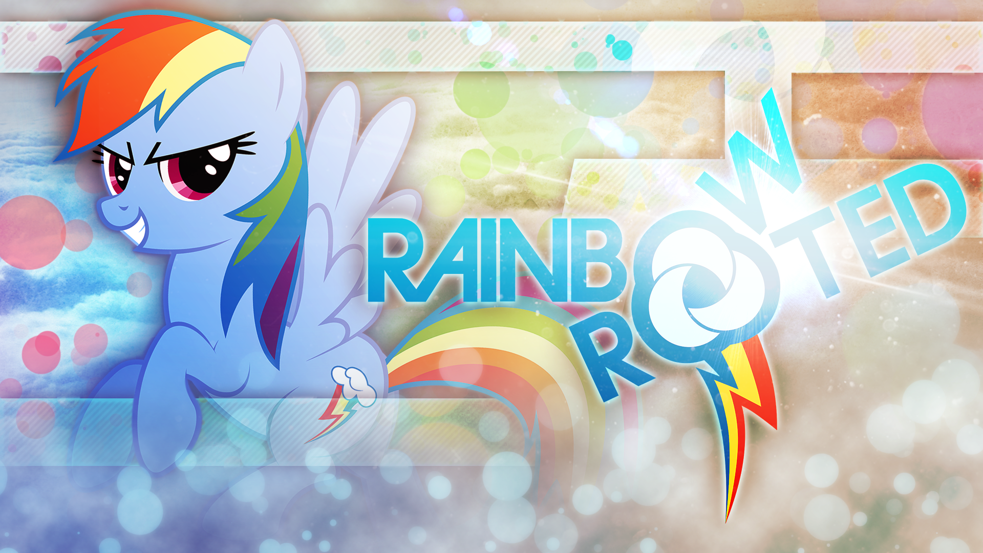 Rainbow and Rooted Dash Style by Fehlung, KibbieTheGreat and WMill