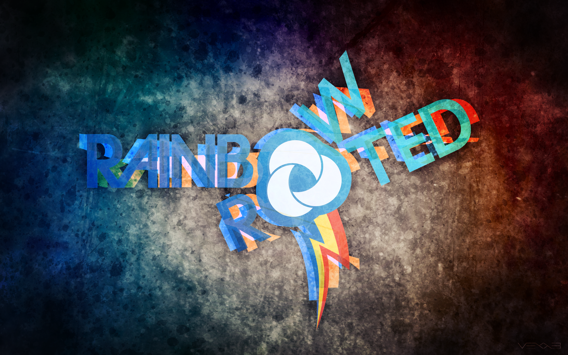 Rainbow and Rooted by Vexx3 and WMill