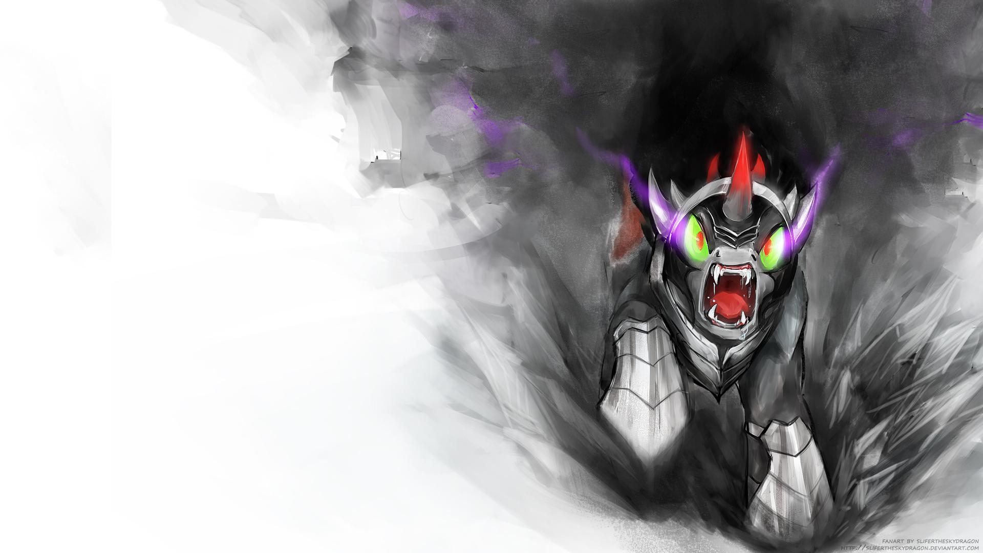 King Sombra (wallpaper ver) by slifertheskydragon