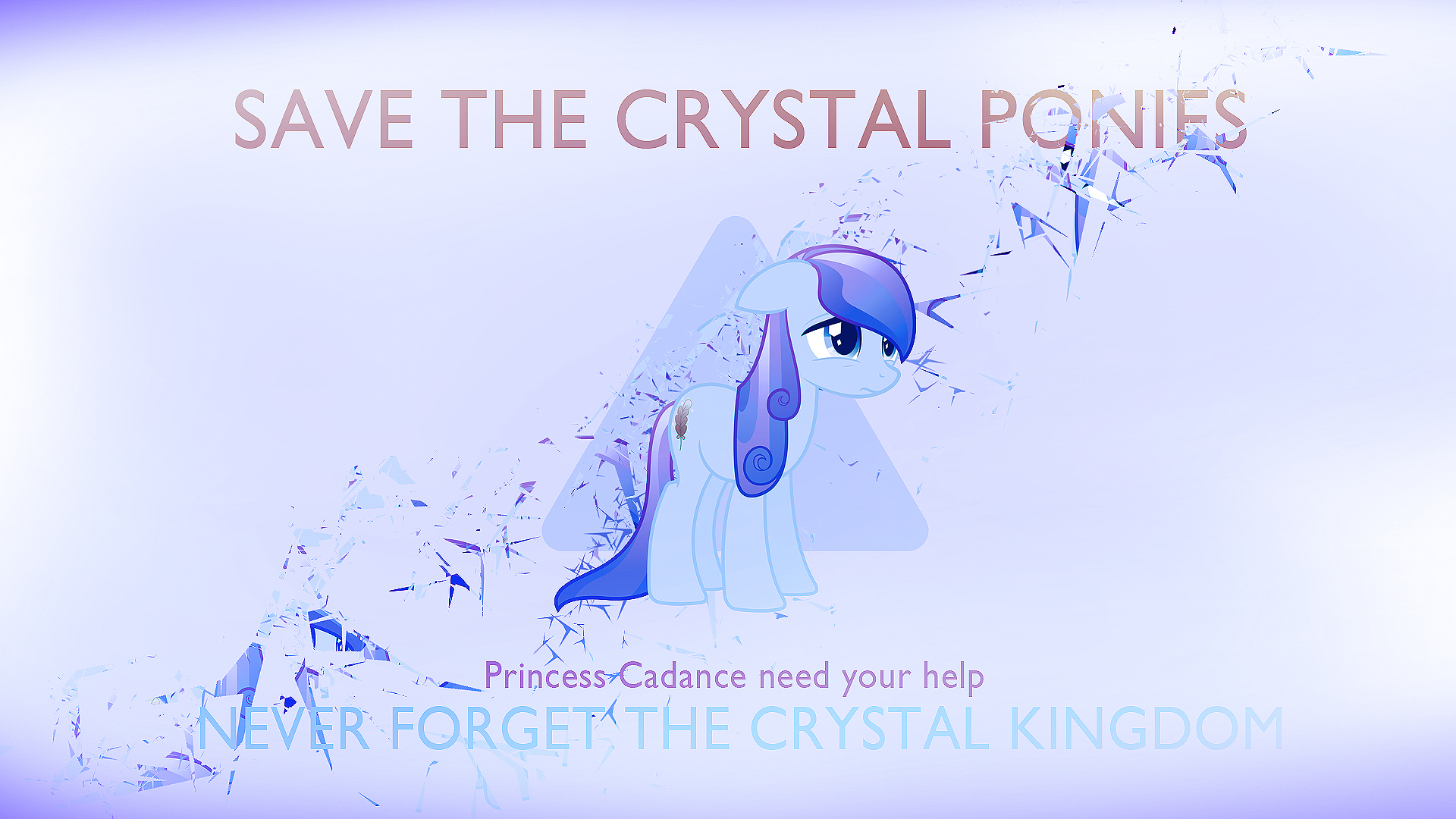 Save The Crystal Ponies Cartel by Xtrl and ZuTheSkunk