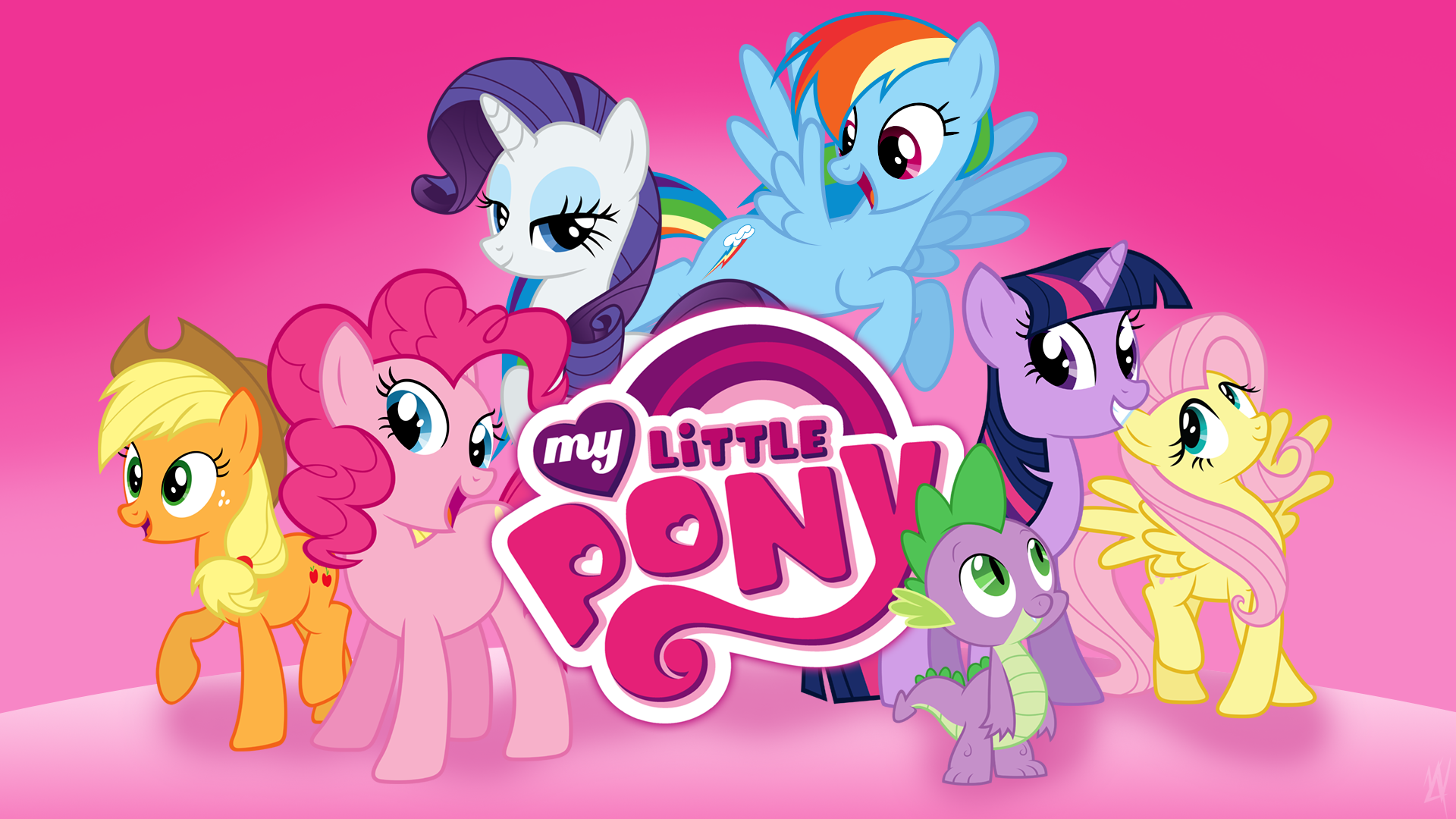 My Little Pony Game Wallpaper (Recreated) by HankOfficer, Hawk9mm, Myardius, MyLittleVisuals, MysteriousKaos, Qsteel, Quanno3 and xPesifeindx