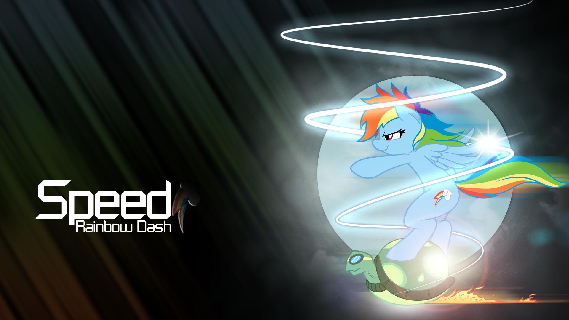 Speed - Rainbow Dash by BlackGryph0n, owlet57 and RainbowPlasma