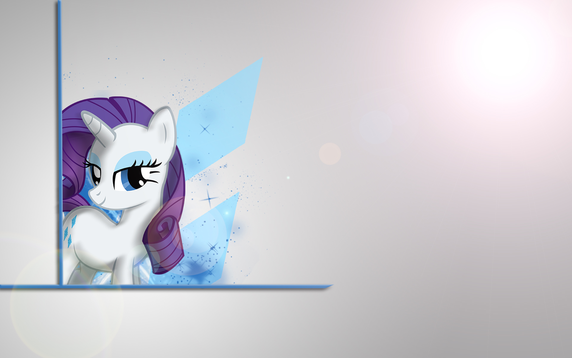 Rarity Simplistic Wallpaper by drewdini and Woodyz611