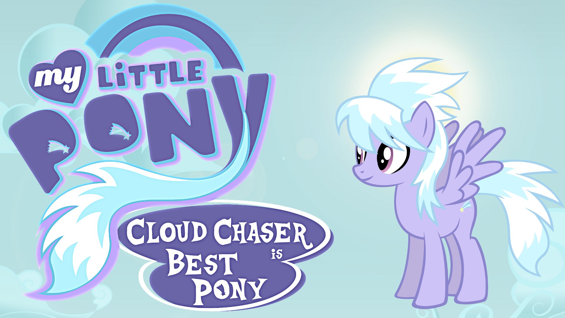 Wallpaper Cloud Chaser best pony by Barrfind, Durpy and jamescorck