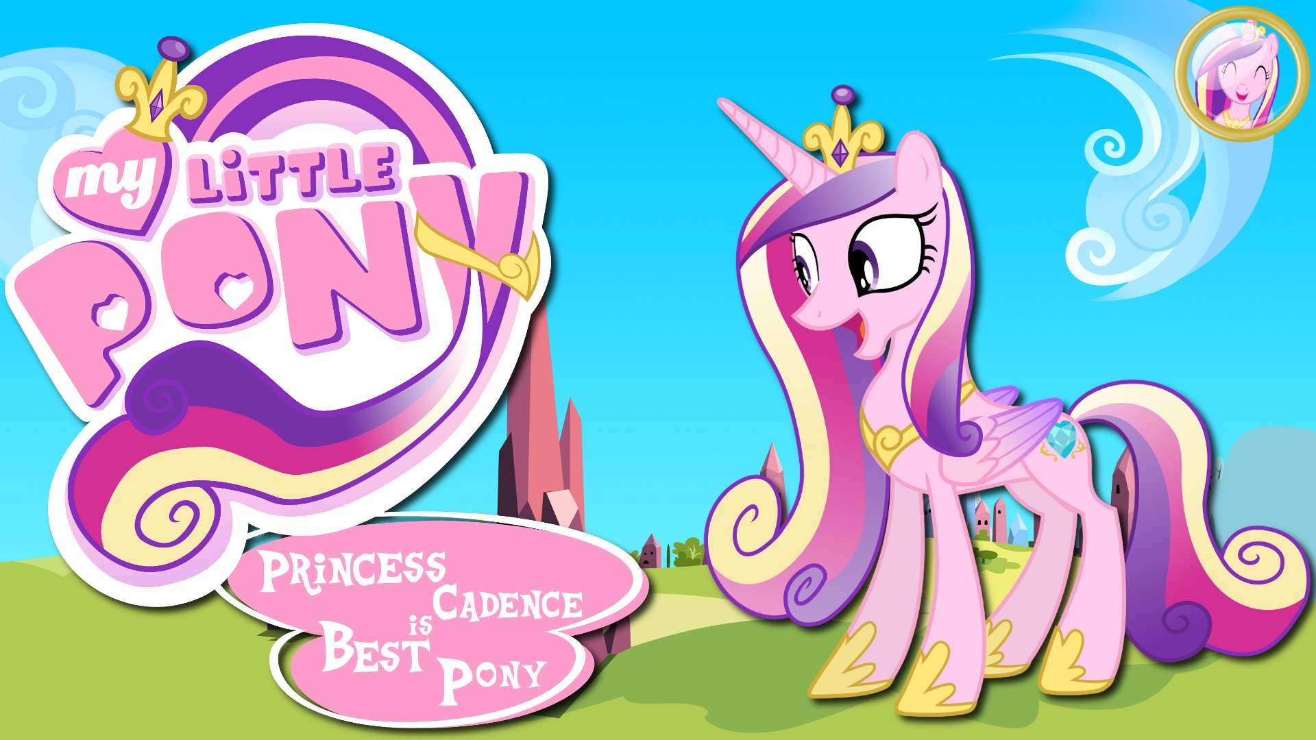 Wallpaper Princess Candance is best pony by 90Sigma, Barrfind and jamescorck