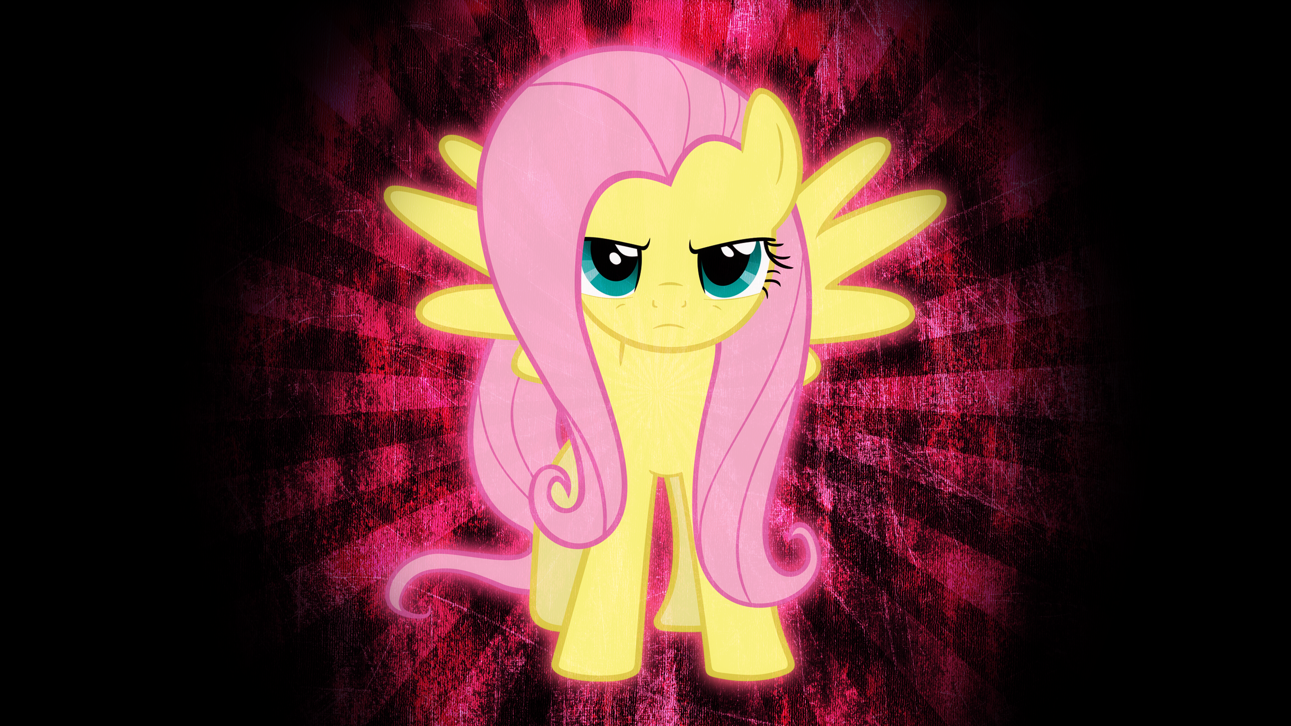 [6] Serious Fluttershy by DoktorRainbowFridge and ExiBrony