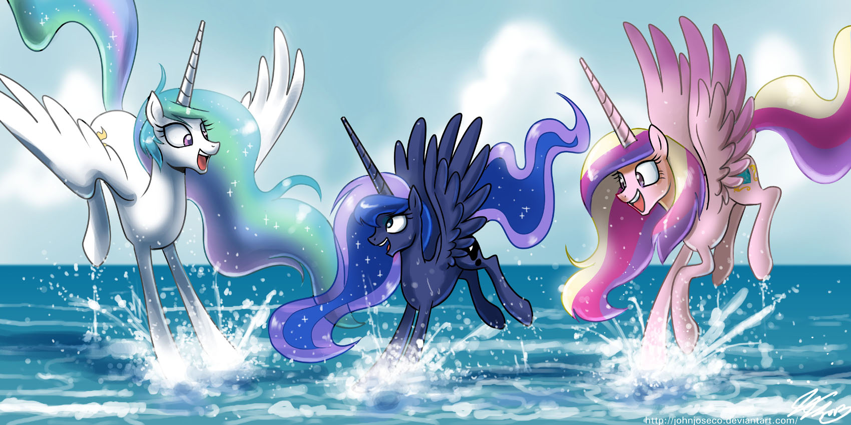Royal Fun at the Beach by johnjoseco