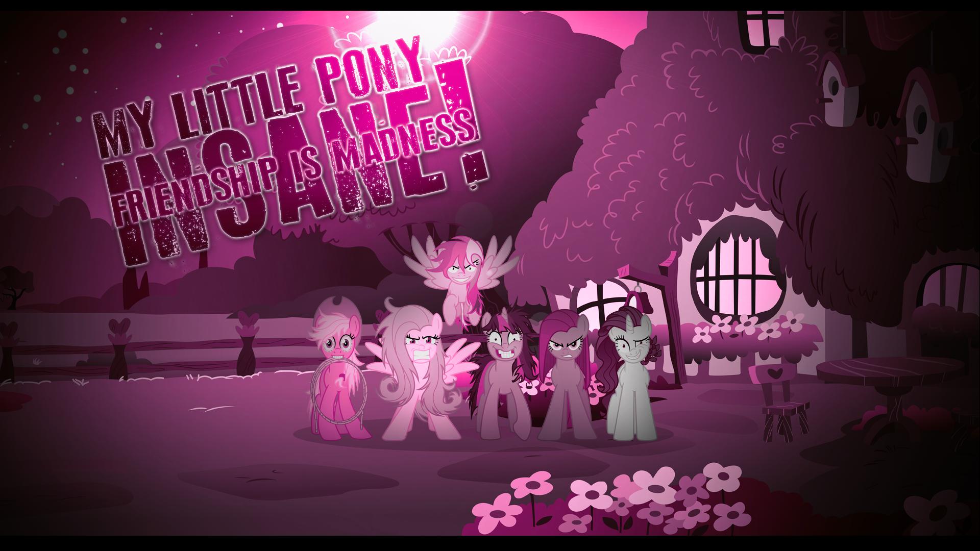 My Little Pony Insane Mane by DaringDashie and Xtrl