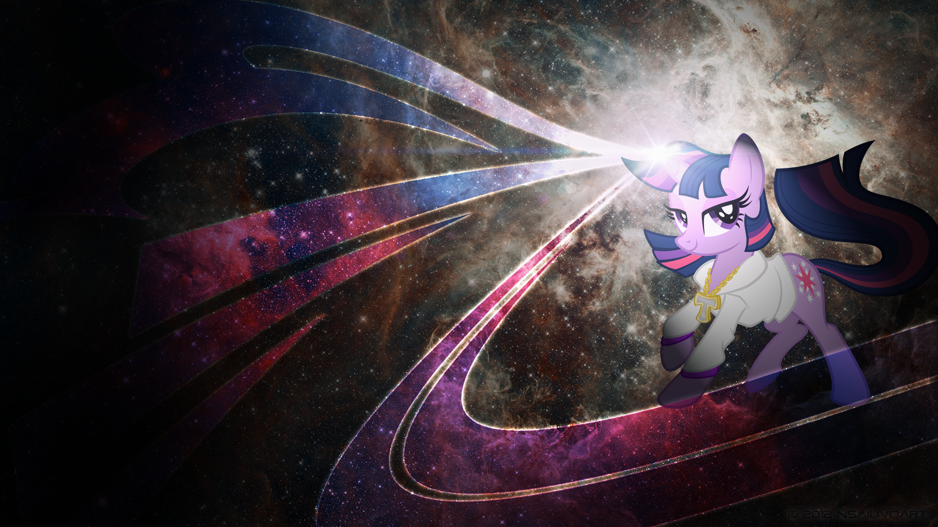 Twilight Spacelicious WP by johnjoseco, nsaiuvqart and tygerbug
