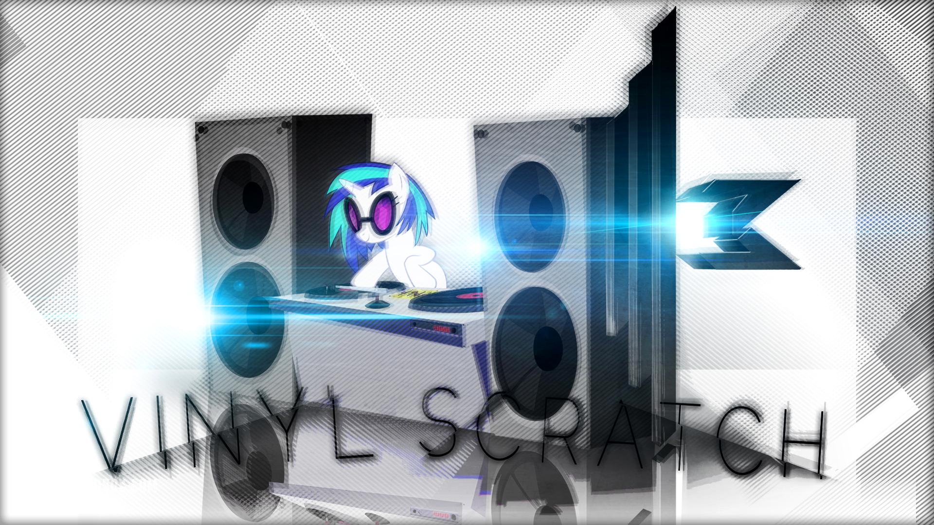 DJ Vinyl Wallpaper by InternationalTCK and stimpyrules