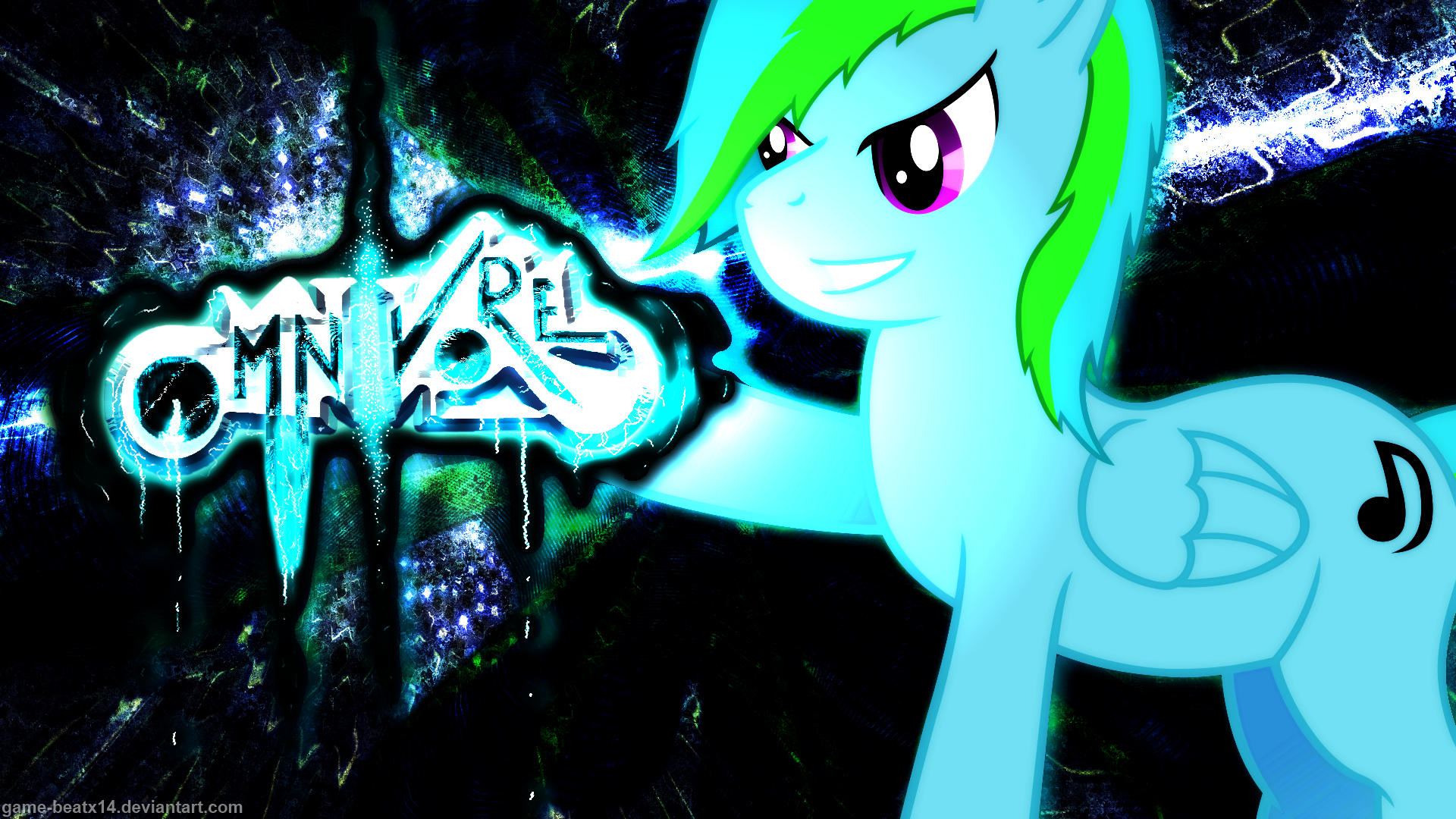 Omnipony Wallpaper by Finaglerific, Game-BeatX14 and Toxic-Sparkle
