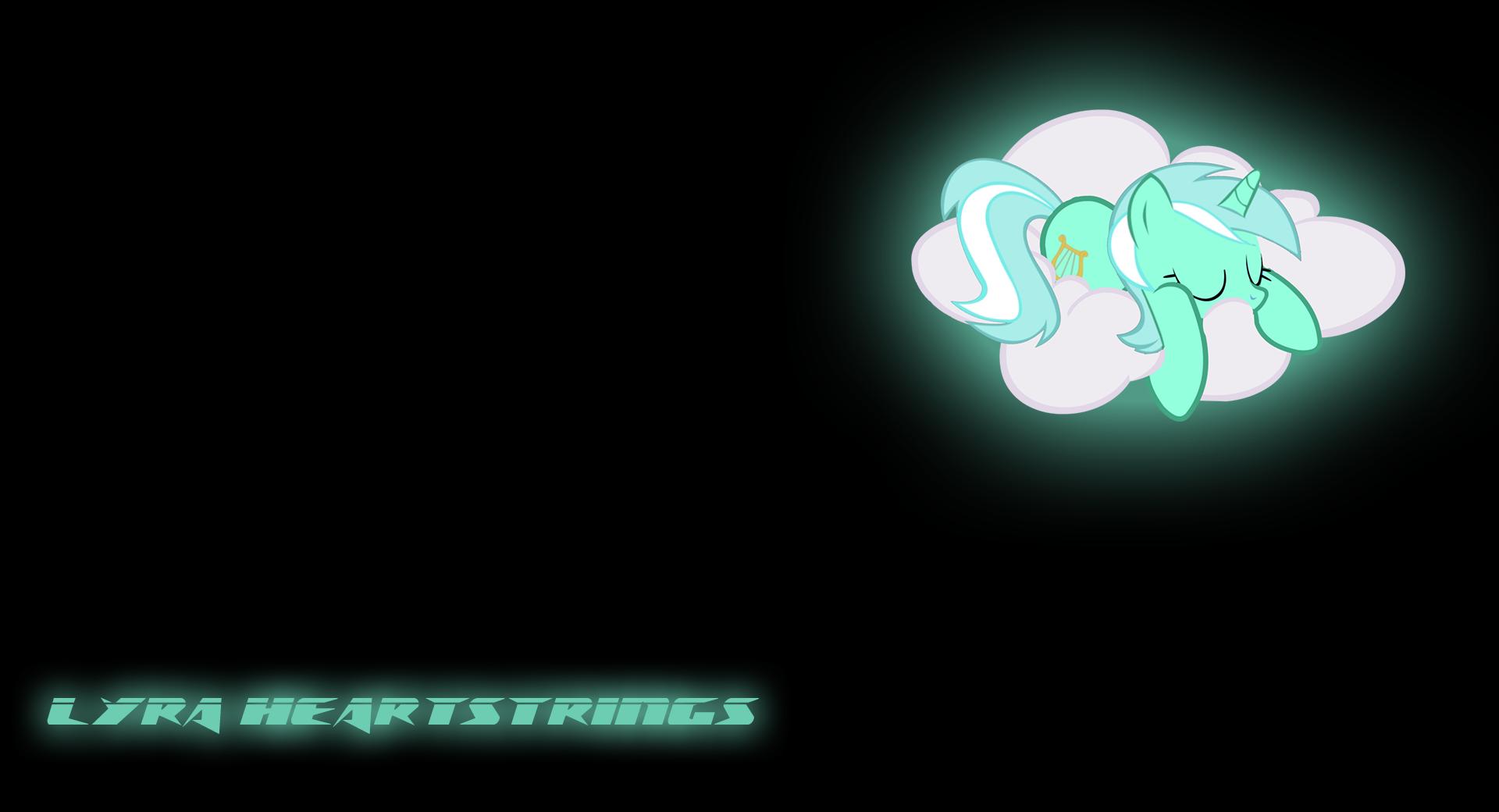 "Lyra Heartstrings ""Glow"" wallpaper by DemonReaper3928 and DjDa5h"