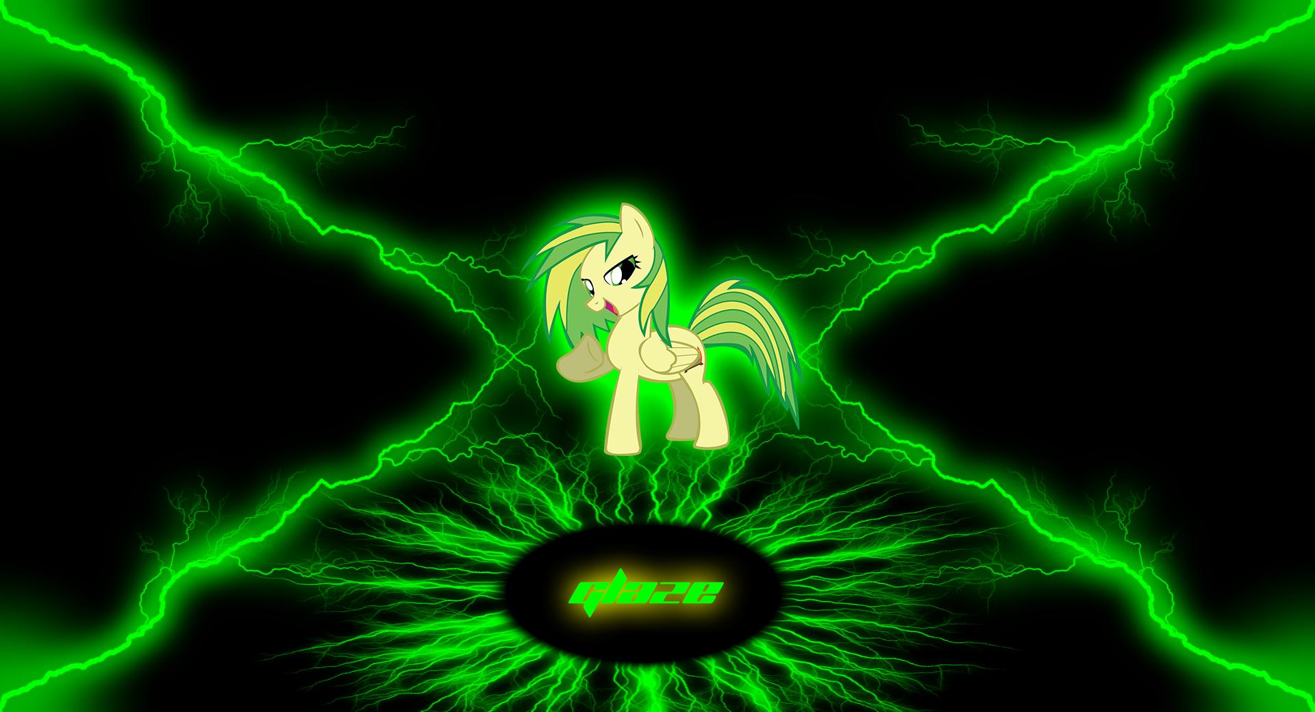 "Glaze ""Lightning Glow"" wallpaper by Baron-Kettell and DjDa5h"