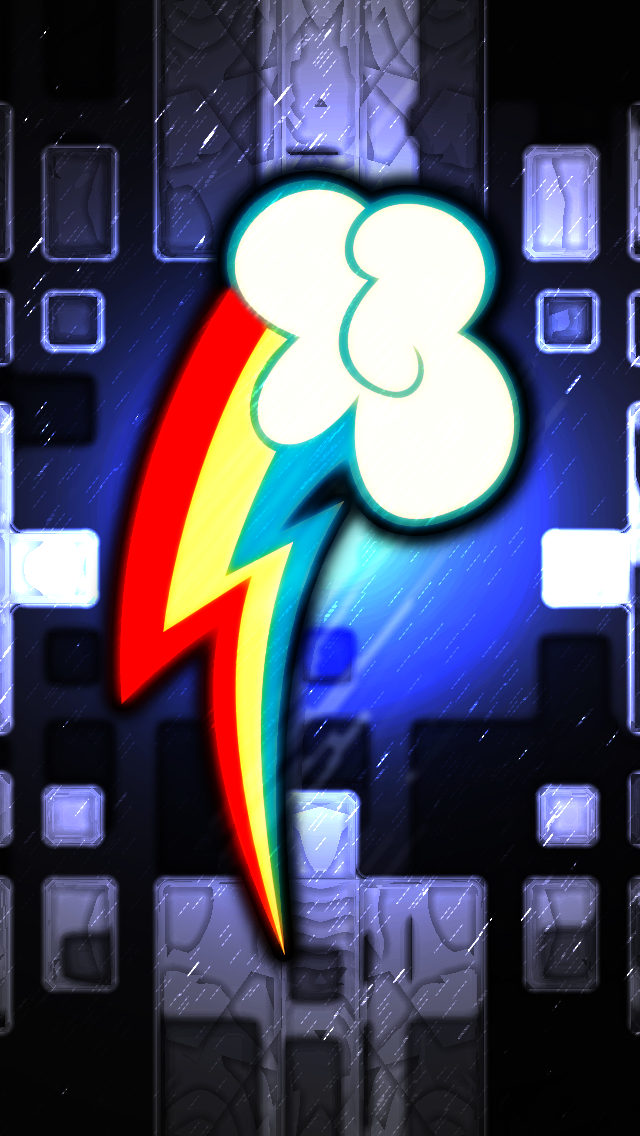 Iphone 5 Rainbow Dash Cm Wallpaper Copy By Game Beatx14