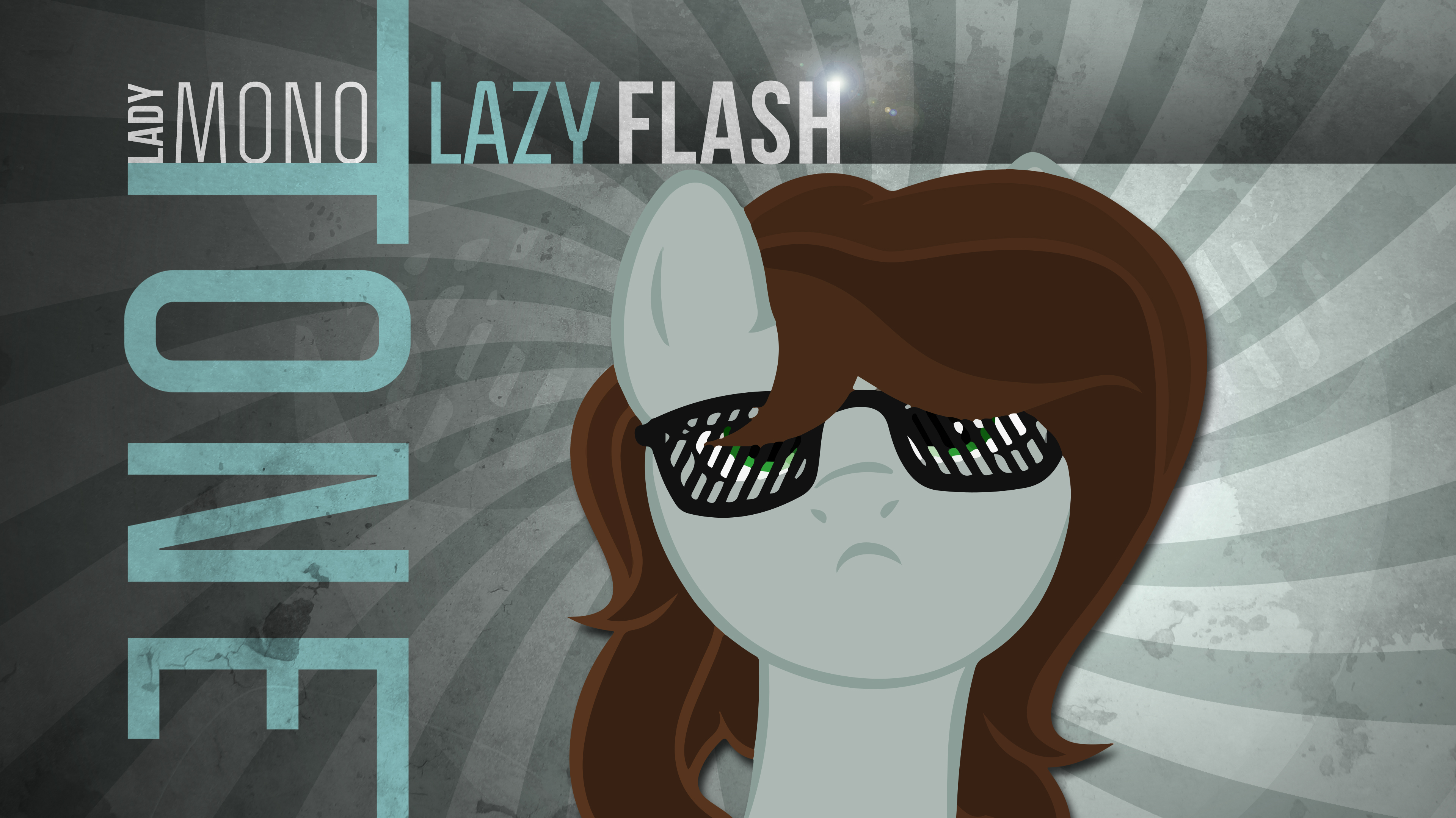LadyMonotone Wallpaper 1 by AceRome and CaliAzian