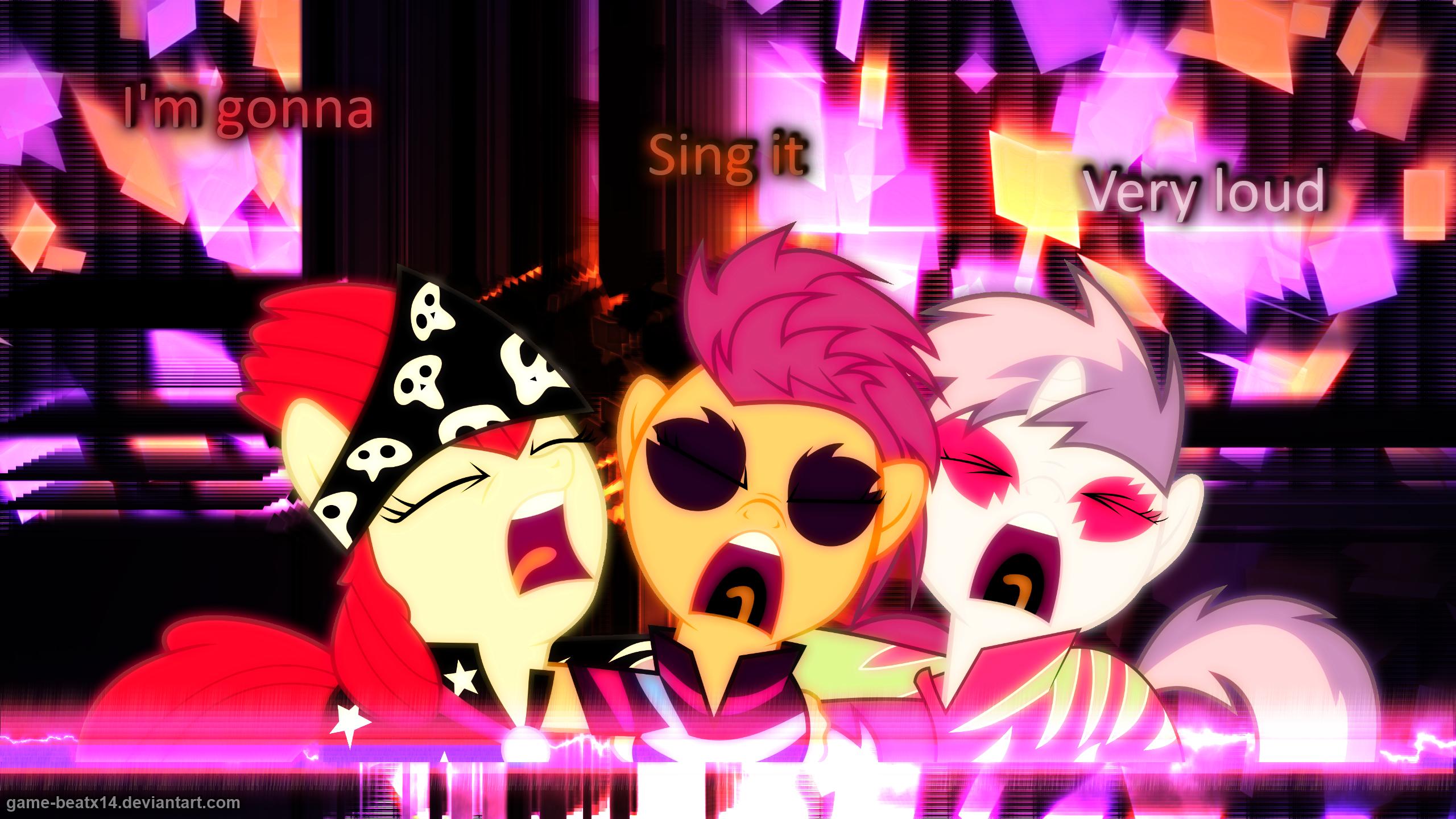 Cutie Mark Rockers by Game-BeatX14 and Pony-Berserker