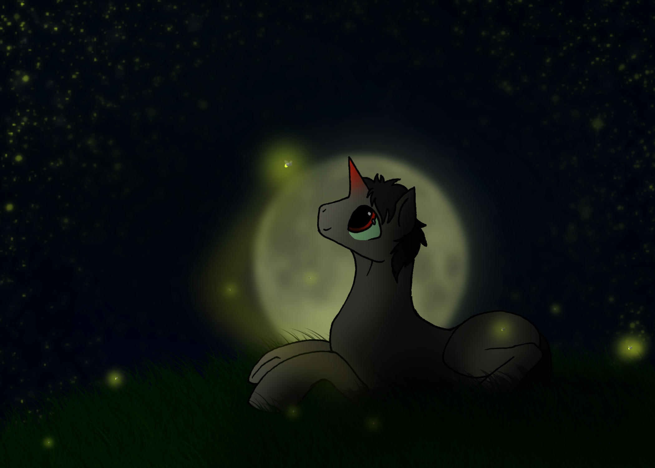 Of Shadows and Fireflies by IceOfWaterflock