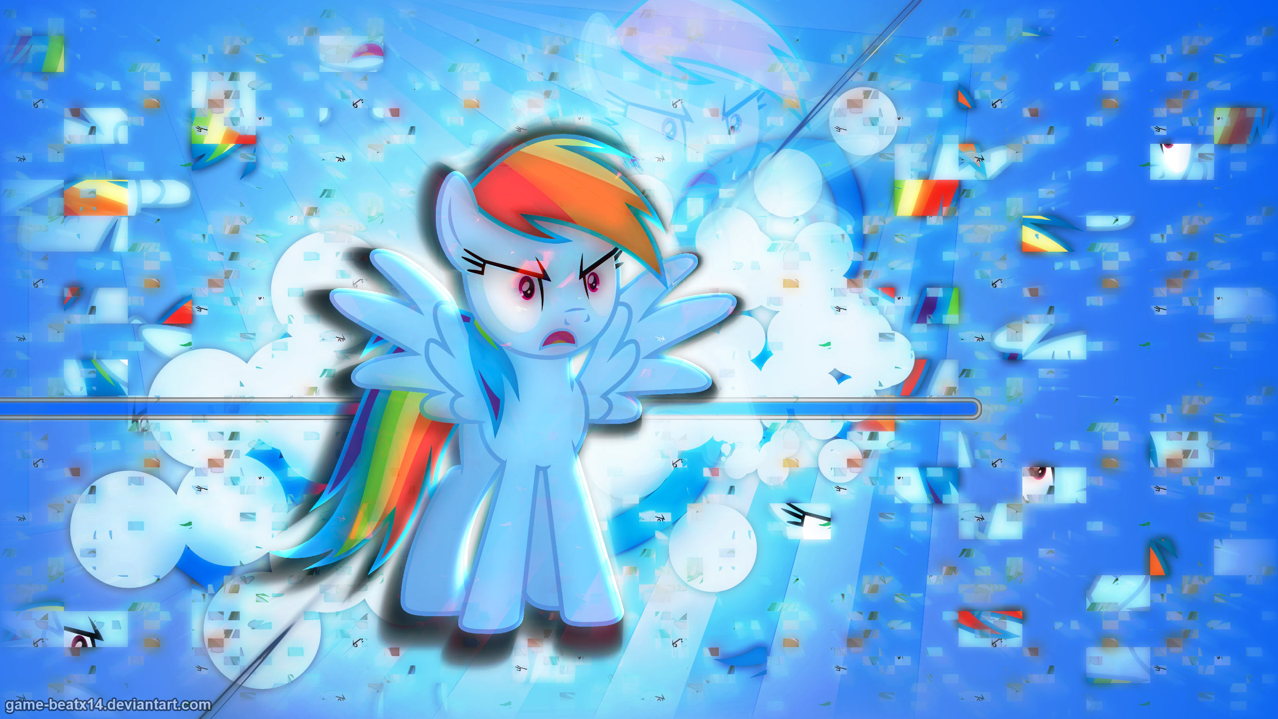 Angry Dash by DoktorRainbowFridge and Game-BeatX14