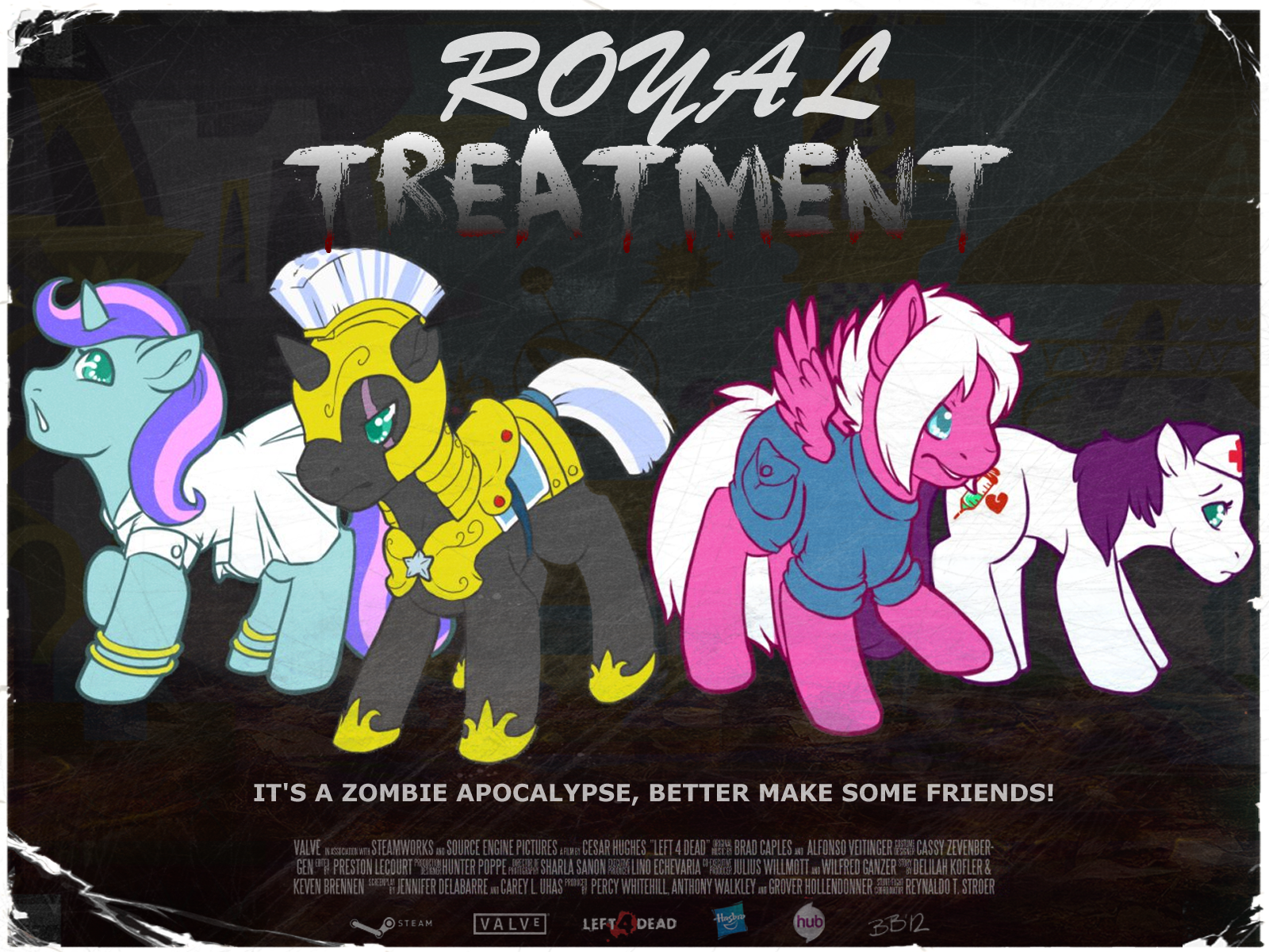 Royal Treatment by BloomingBerry and Dwarf-Ninjas