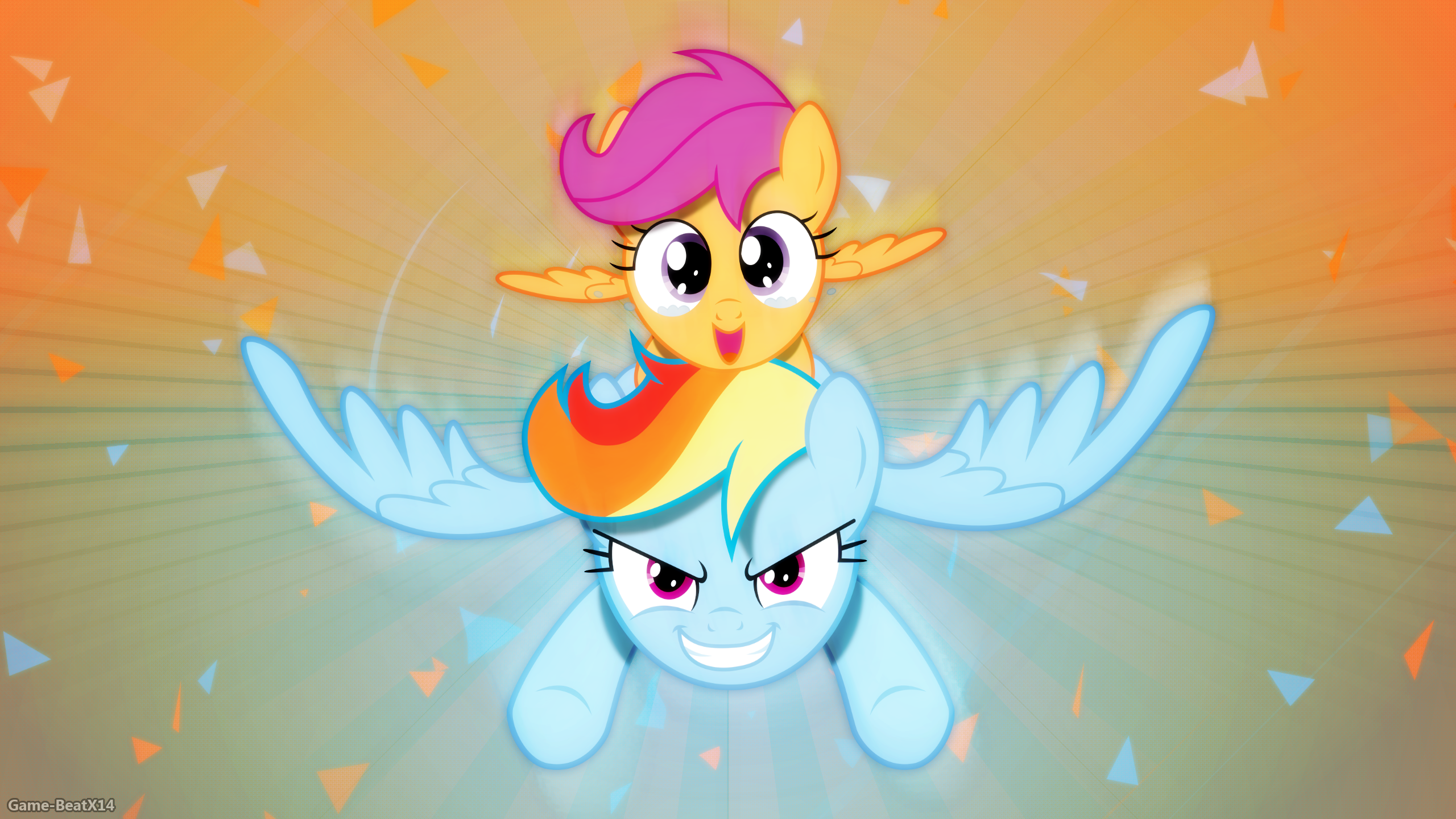 Hold on Tight! by Agamnentzar, Game-BeatX14 and KyssS90