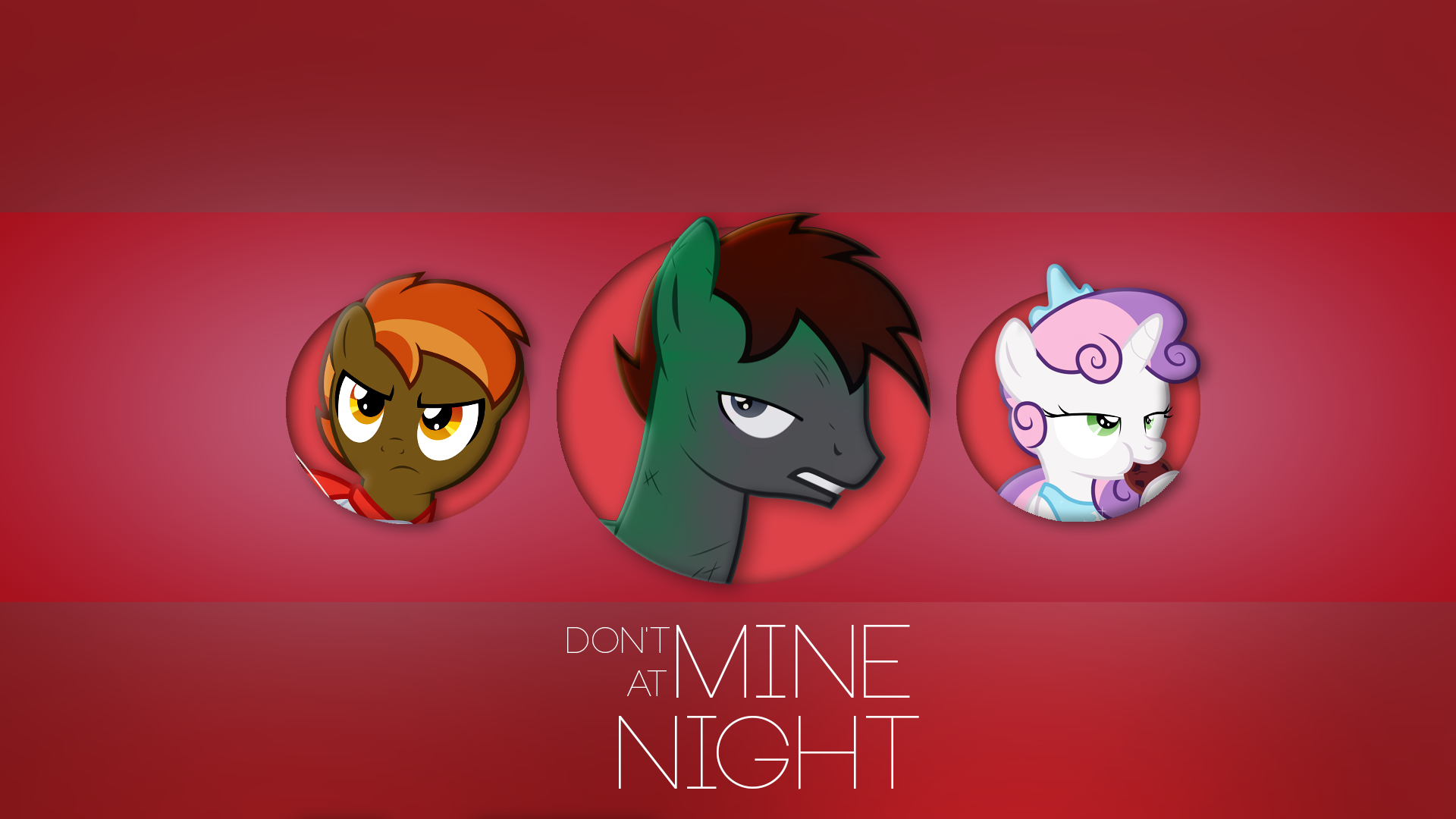 Don't Mine at Night - Wallpaper by Rainbowb4sh, Stainless33, Starbolt-81 and Tyto-OvO