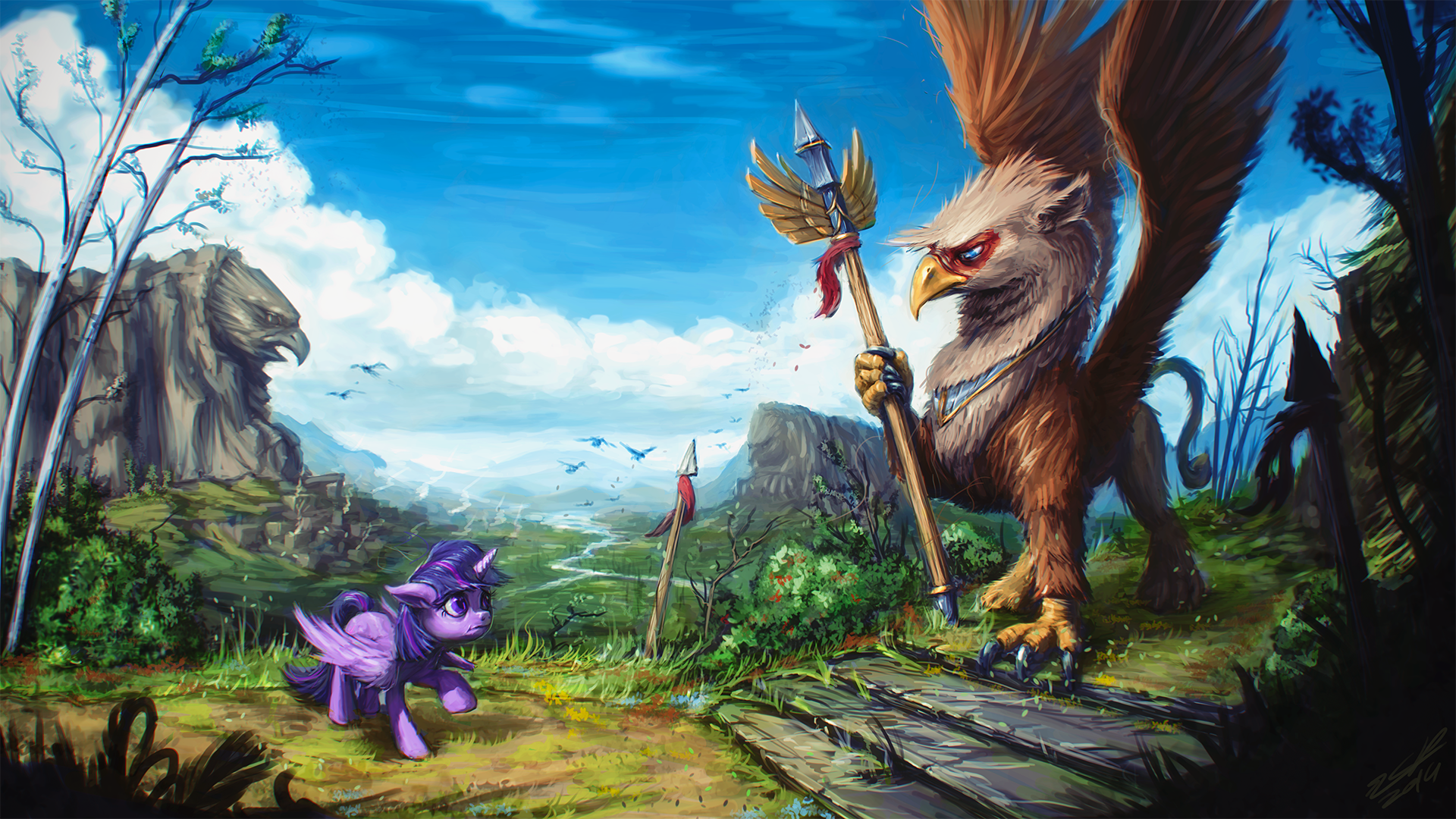 On Feathered Grounds by AssasinMonkey