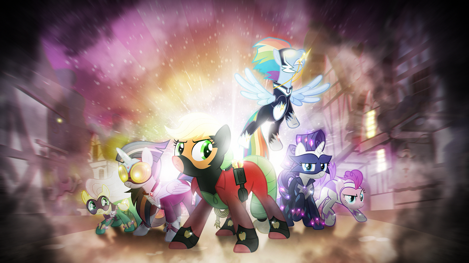 wallpaper the power ponies vip by 90sigma imperfectxiii