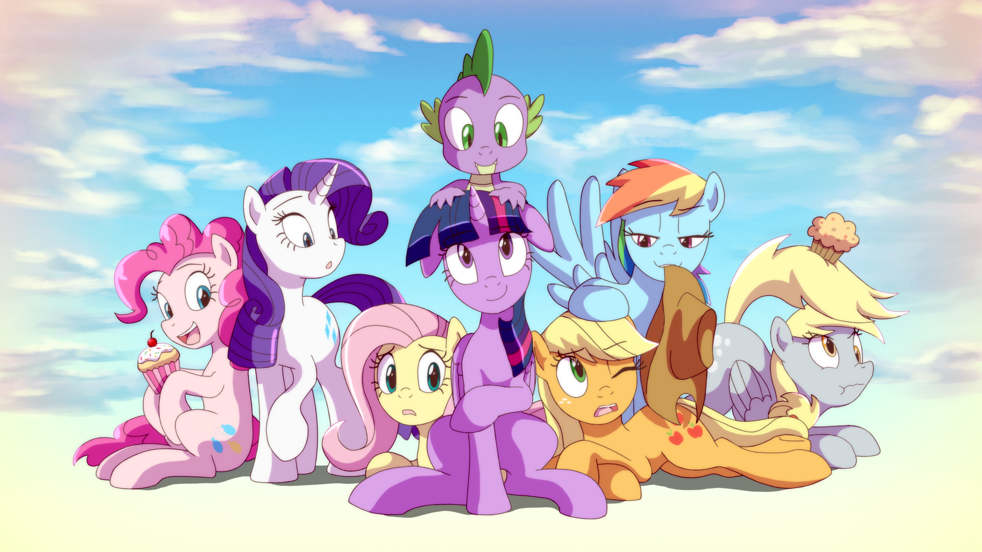 Twilight with Friends by DeannART