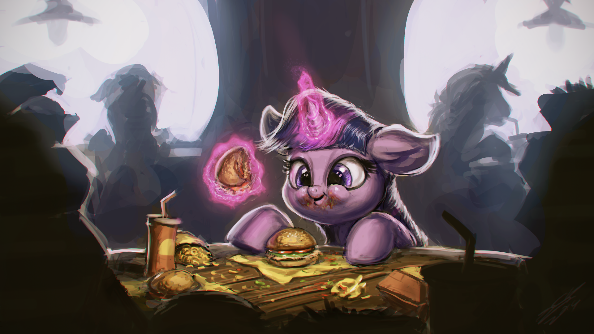 Hayburger Time by AssasinMonkey