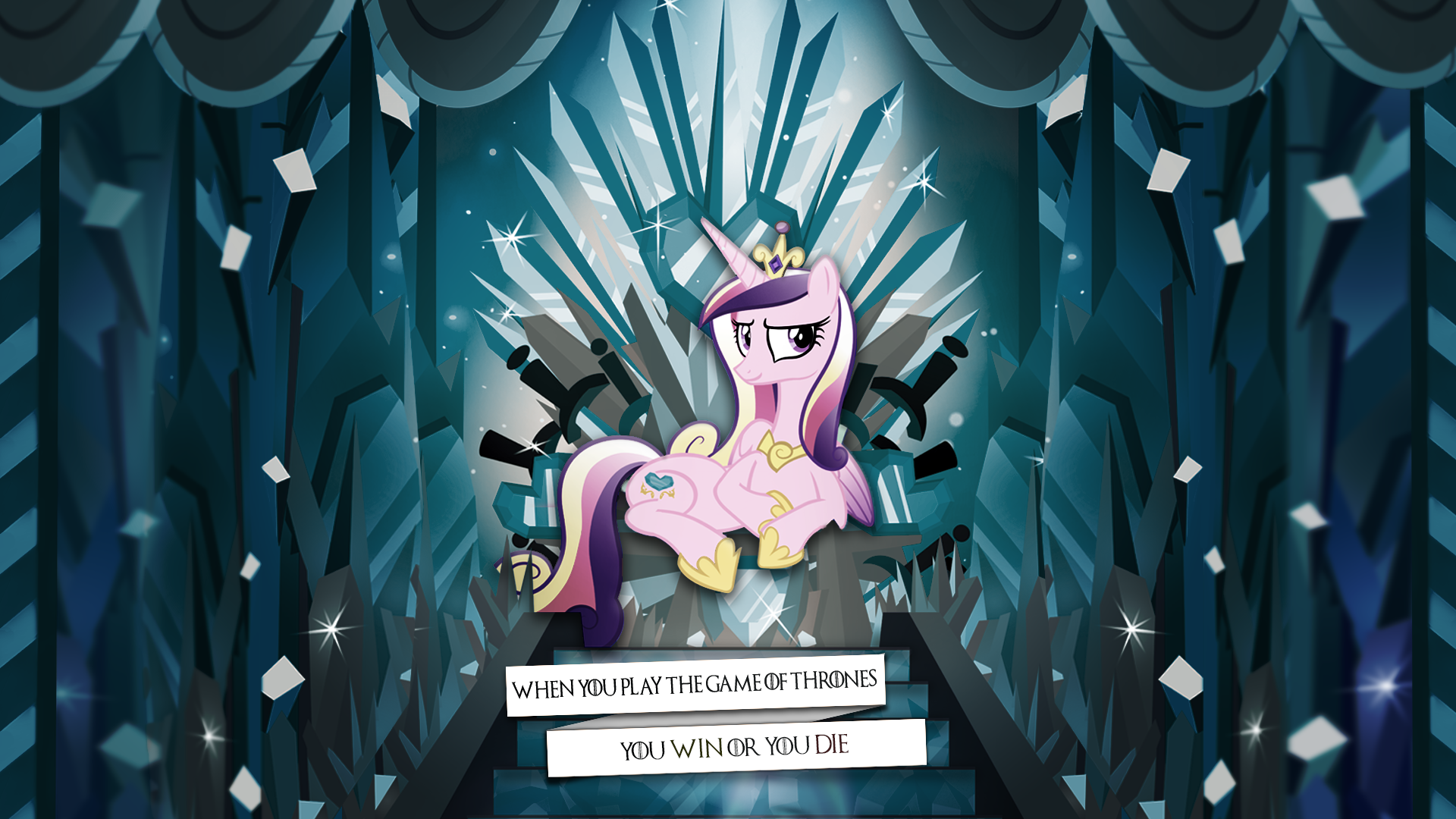 I Won. by PixelKitties and Rainbowb4sh