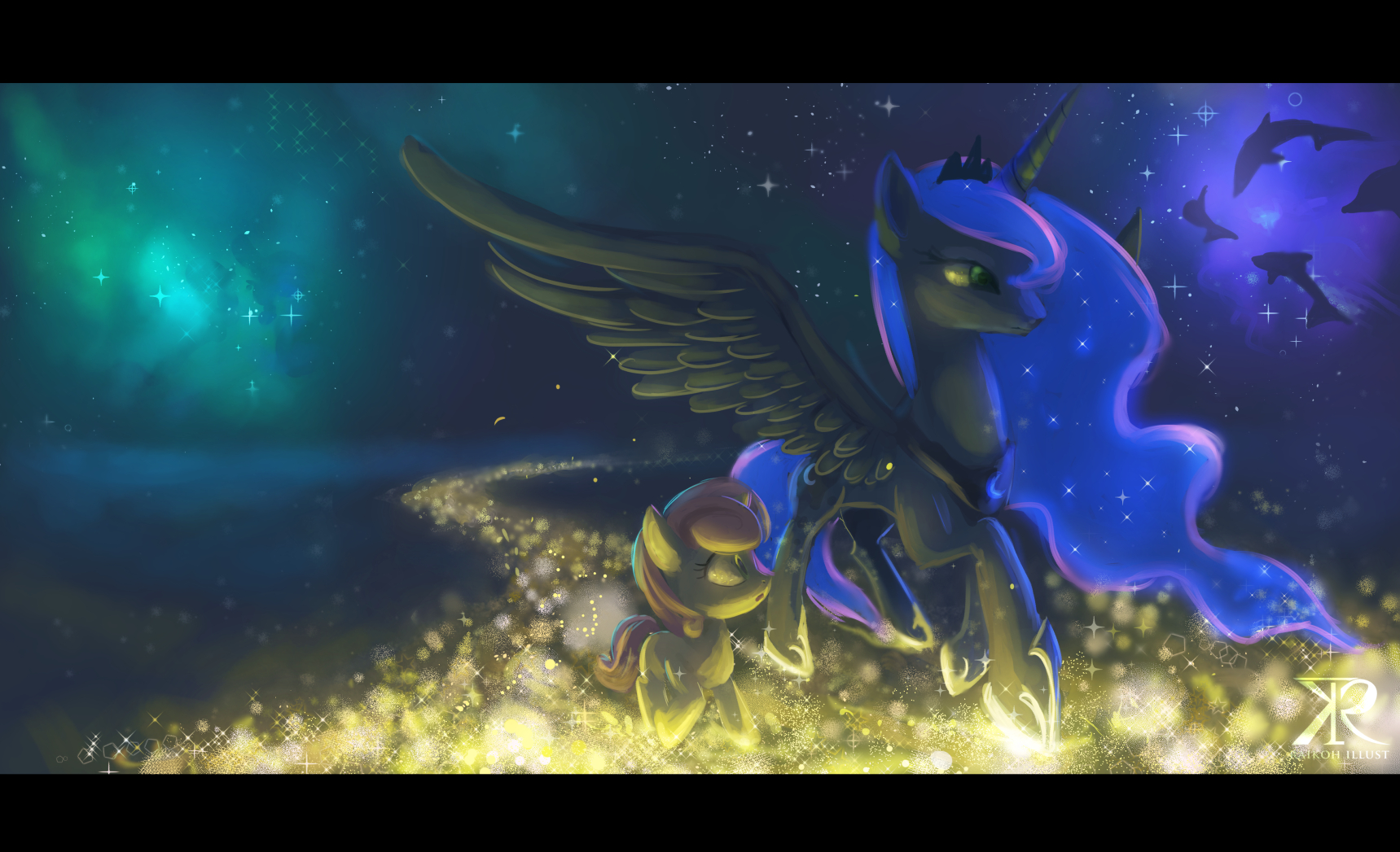Trotting in the Dream world by Raikoh-illust